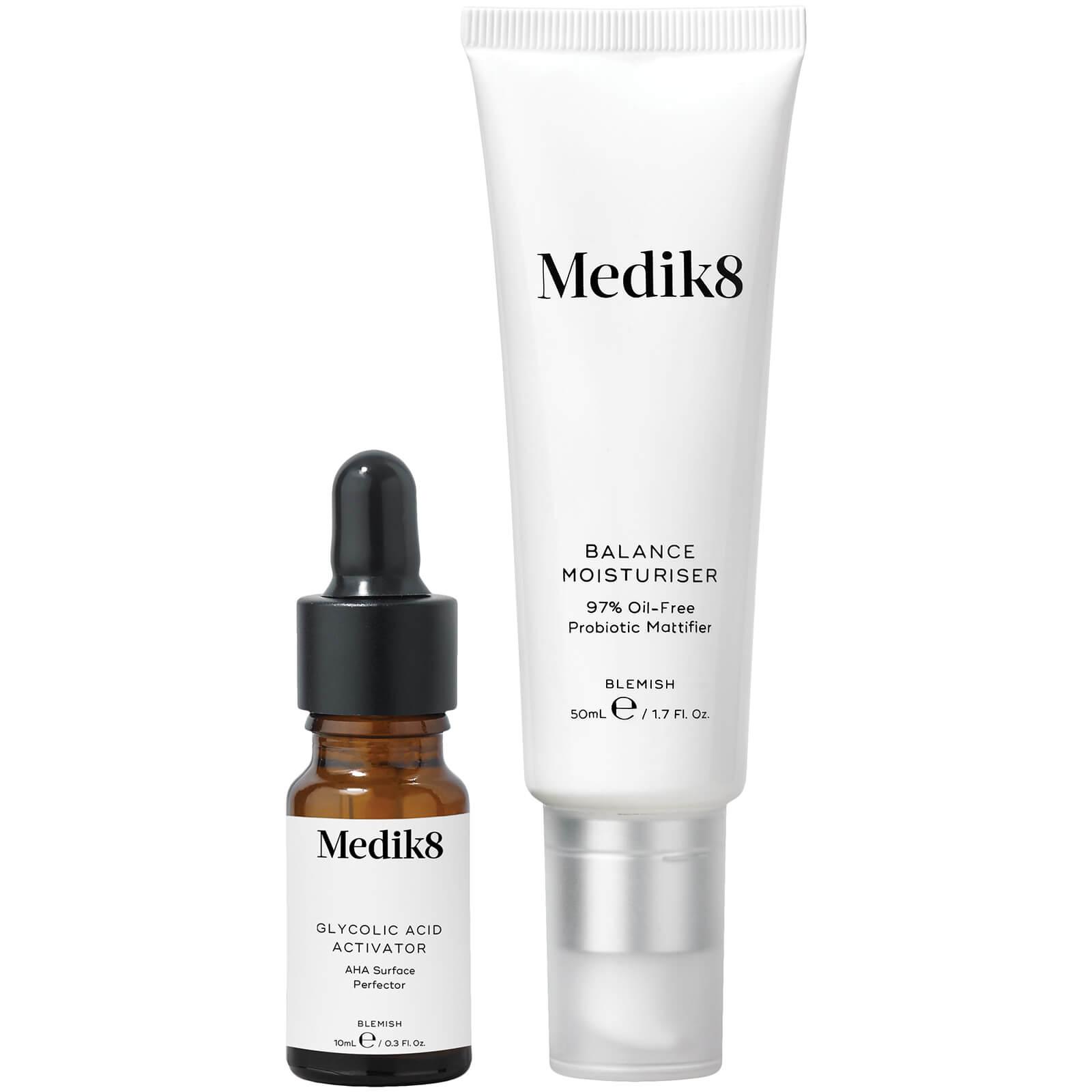 Medik8 Balance Moisturiser with Glycolic Acid Activator 50ml