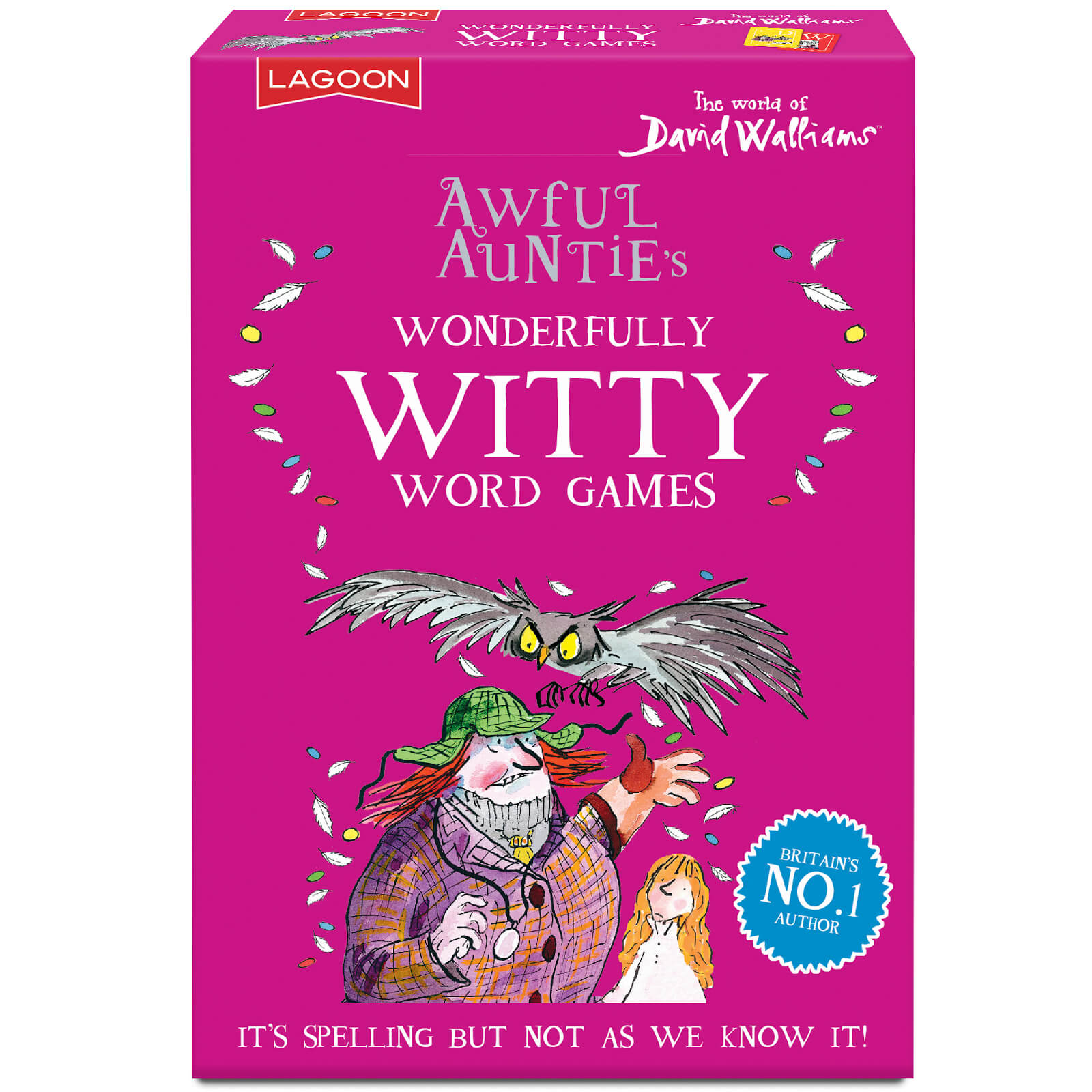Image of David Walliams Awful Auntie's Wonderfully Witty Word Games