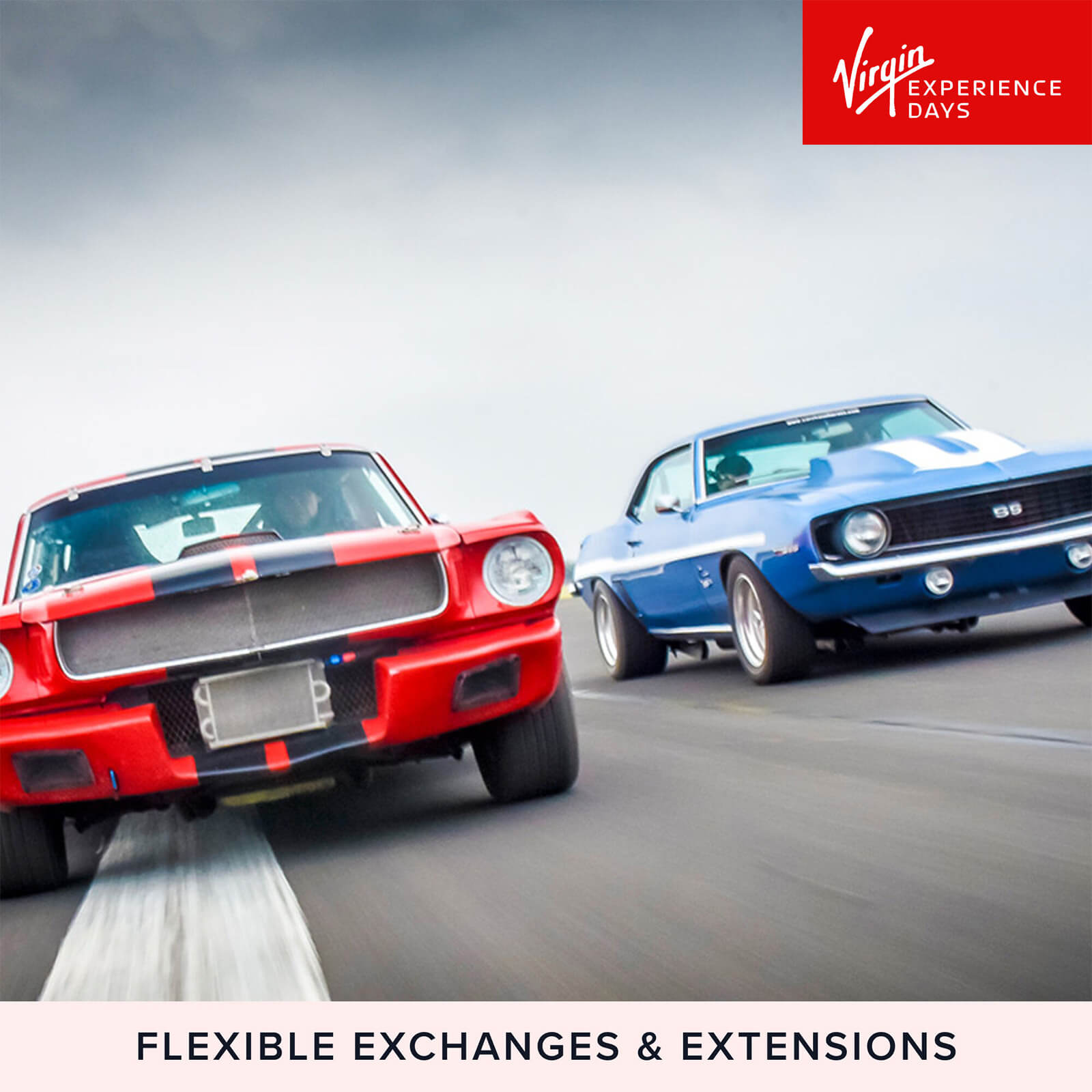 Image of Double American Muscle Car Blast