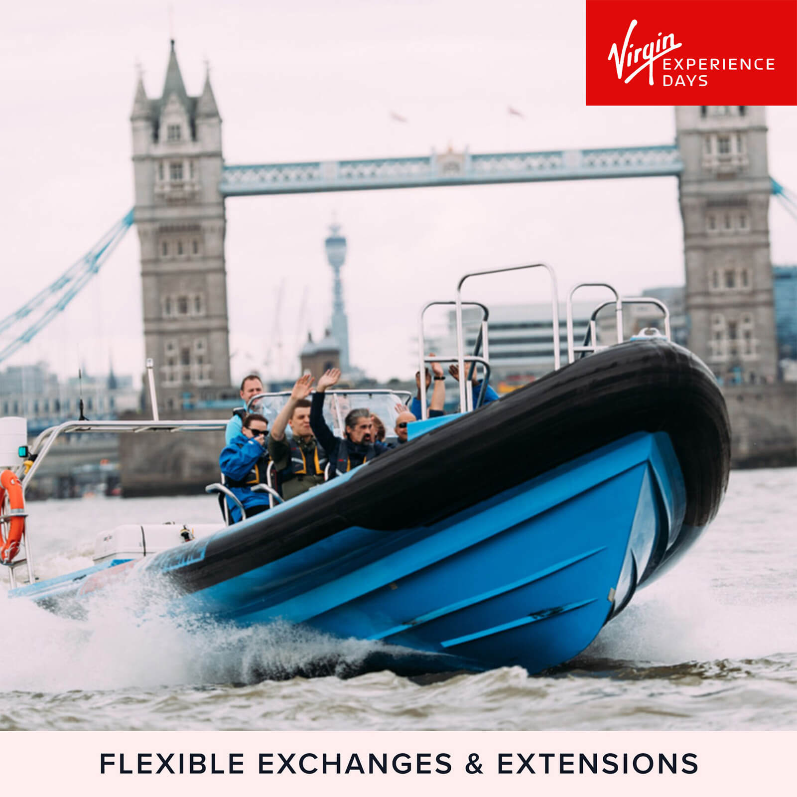 Image of Thames Jet Boat Rush and Three Course Meal for Two at Marco Pierre White's London Steakhouse Co