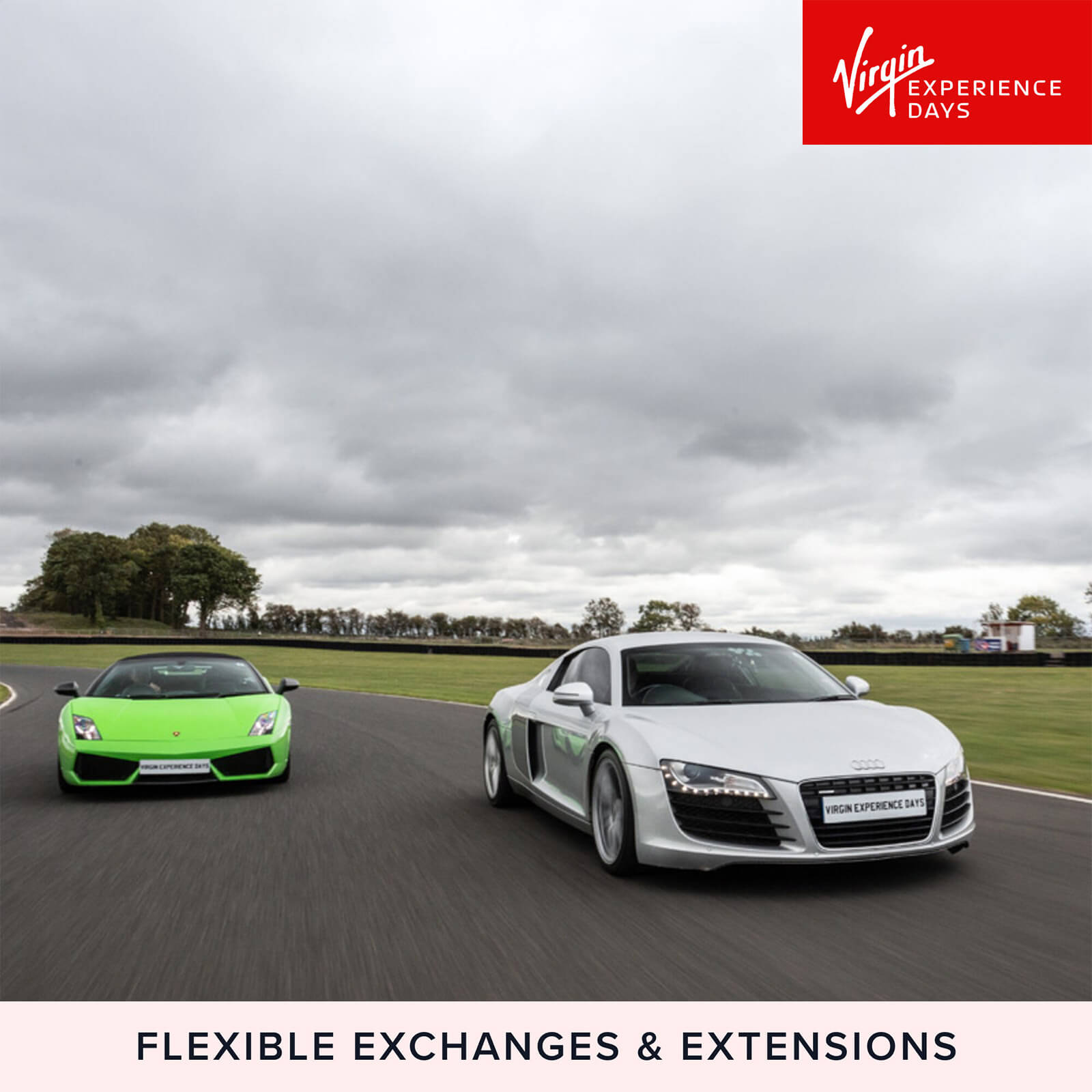 Image of Double Supercar Blast Plus High Speed Passenger Ride and Photo