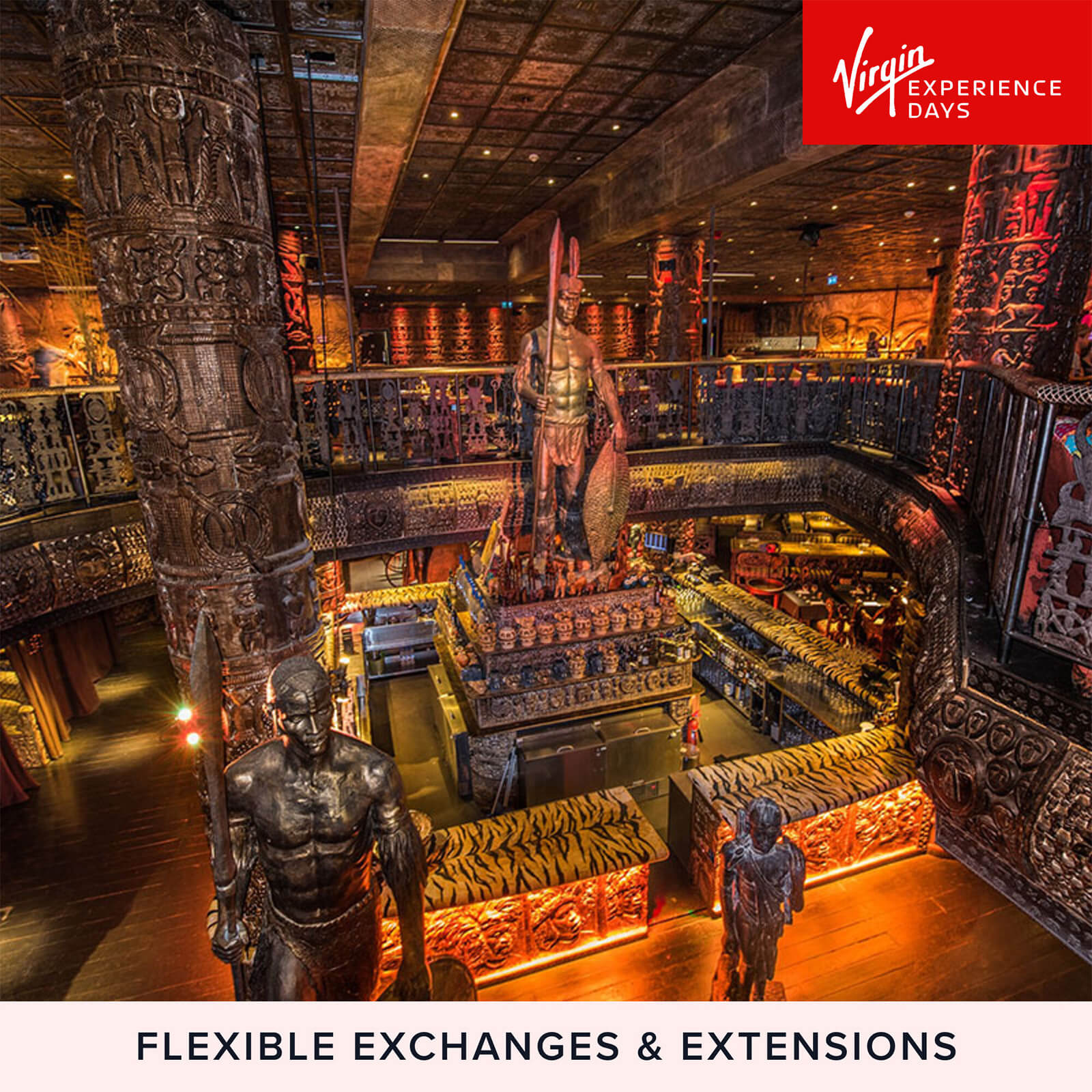 Image of Three Course Meal for Two with Sparkling Cocktail at London's Shaka Zulu