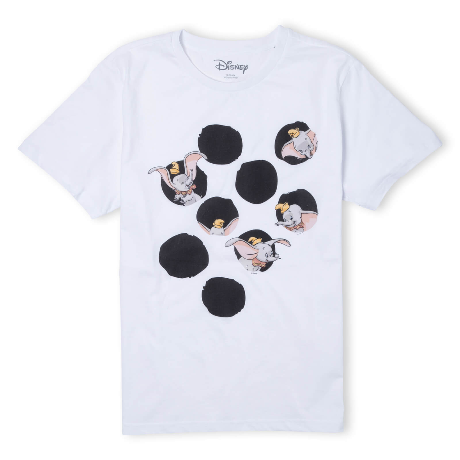 Image of Disney Dumbo Peekaboo T-Shirt - White - 3XL - White