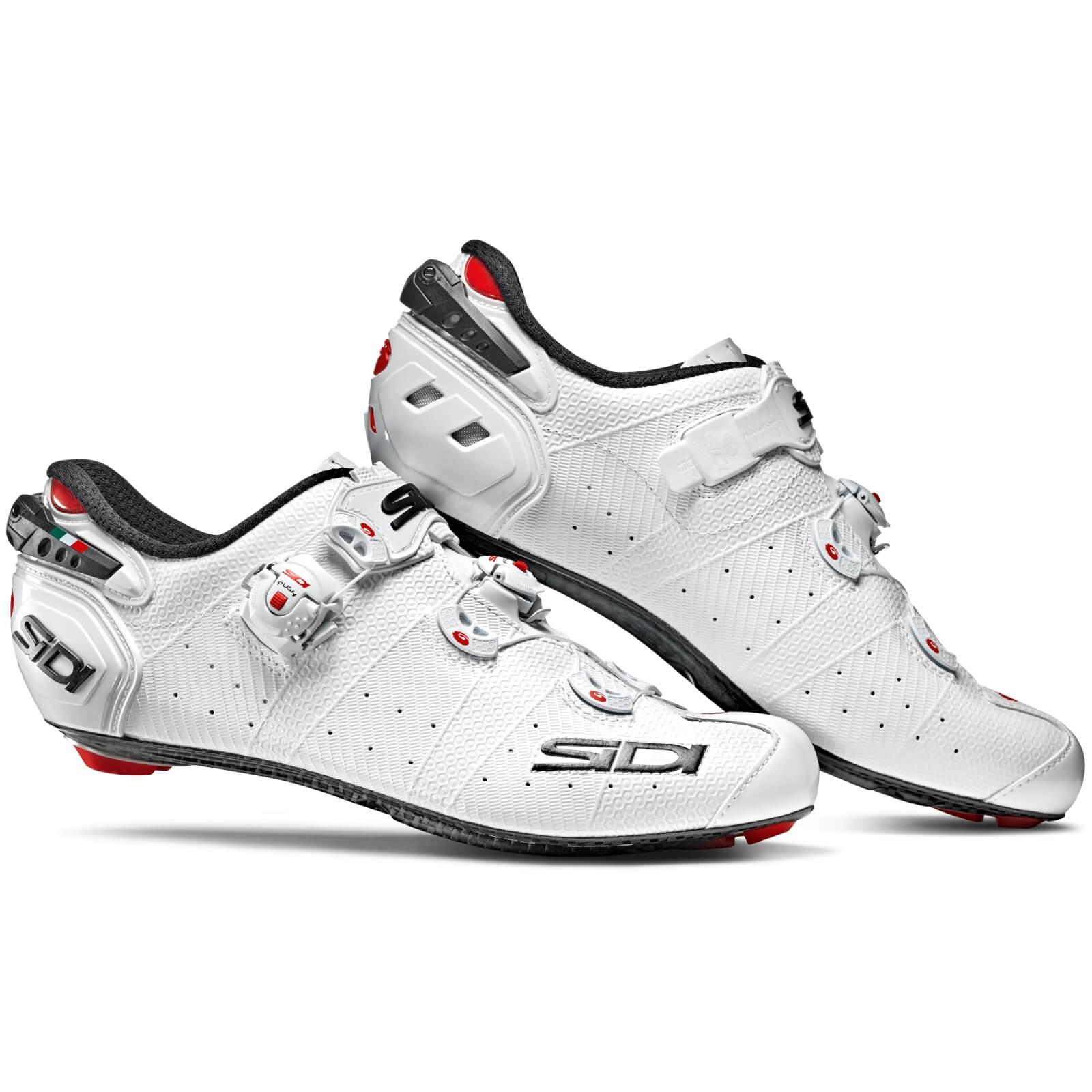 Sidi Wire 2 Carbon Road Shoes - White/White - EU 45 - White/White