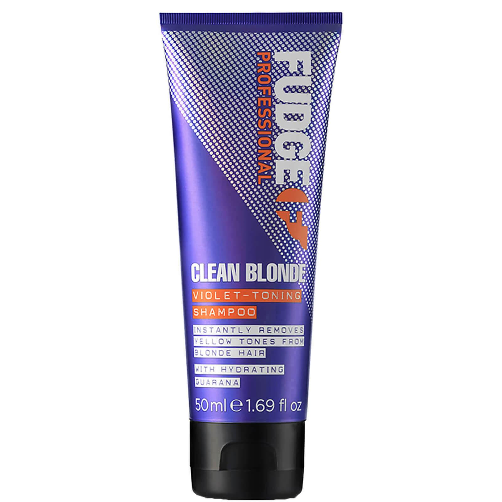 Купить Тонирующий шампунь Fudge Clean Blonde Shampoo 50 мл