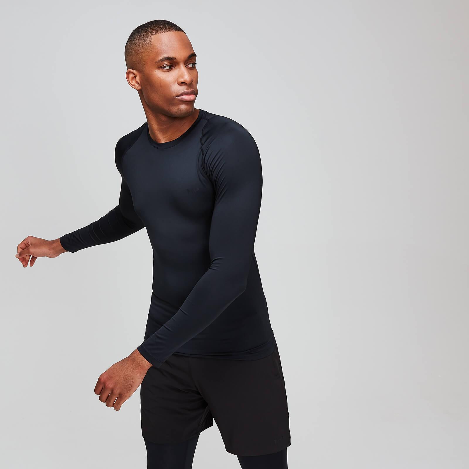 Haut d'entraînement à manches longues base MP Essentials pour hommes – Noir - XXL