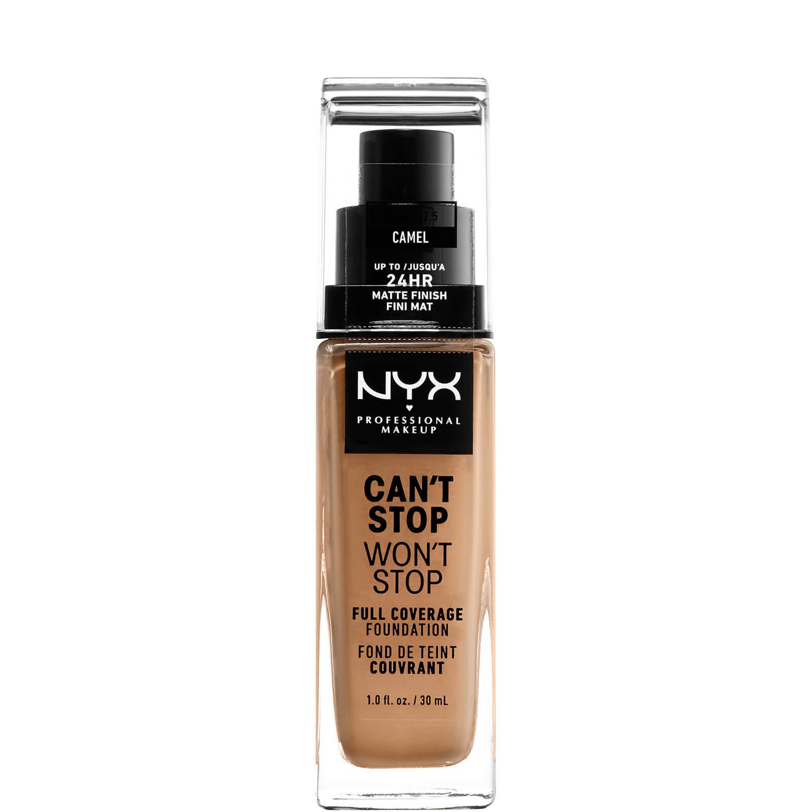 Купить Тональная основа NYX Professional Makeup Can't Stop Won't Stop 24 Hour Foundation (различные оттенки) - Camel