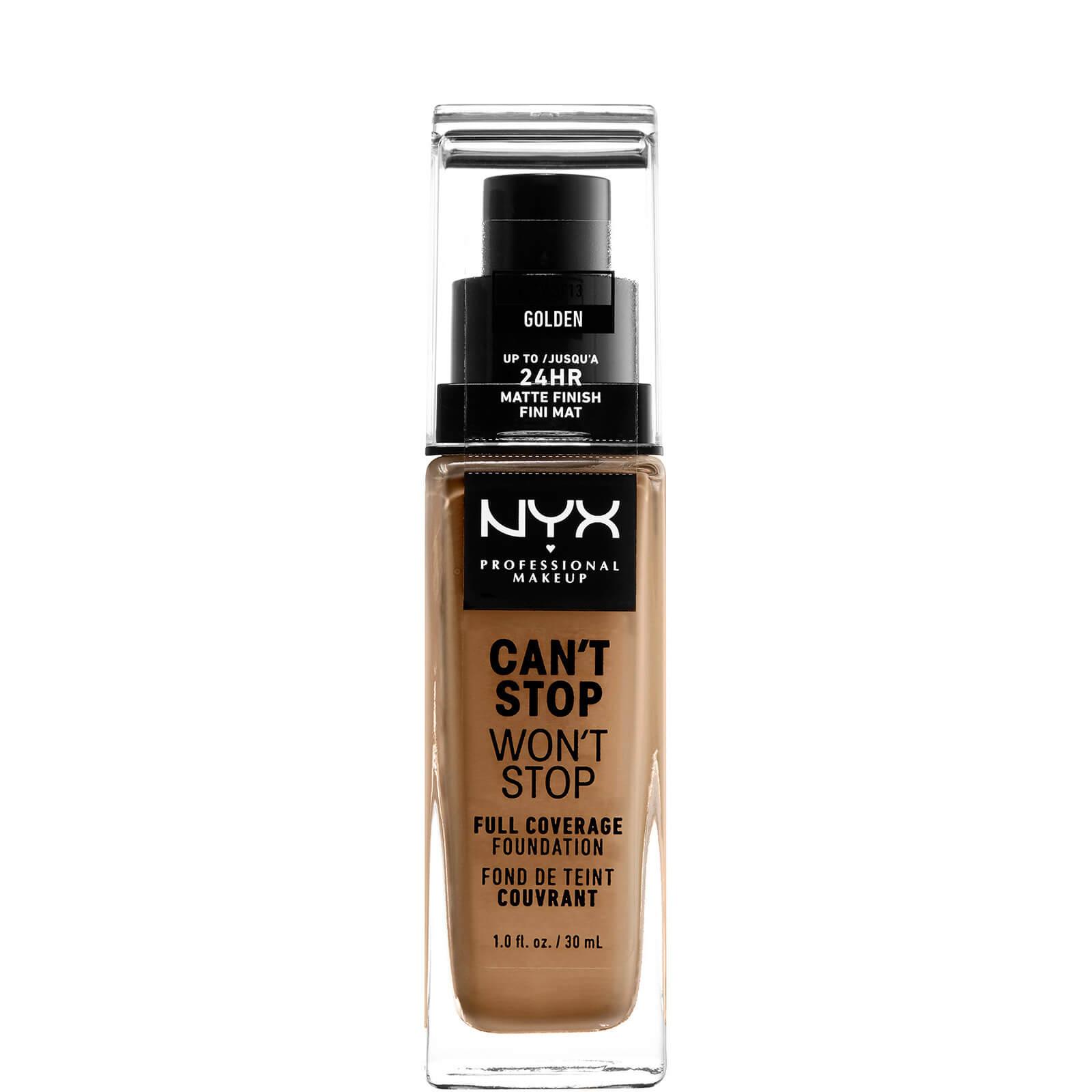 Купить Тональная основа NYX Professional Makeup Can't Stop Won't Stop 24 Hour Foundation (различные оттенки) - Golden