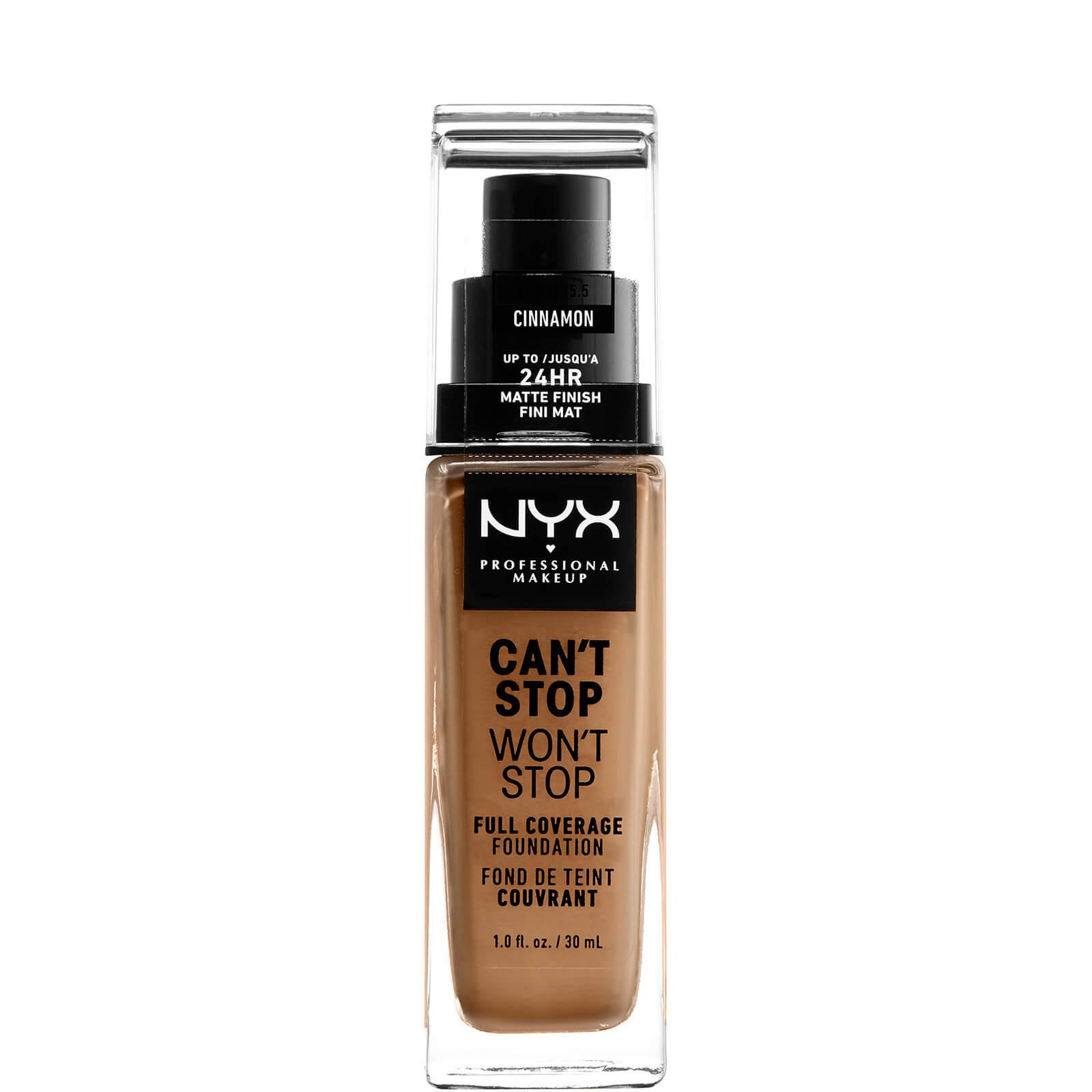 Купить Тональная основа NYX Professional Makeup Can't Stop Won't Stop 24 Hour Foundation (различные оттенки) - Cinnamon