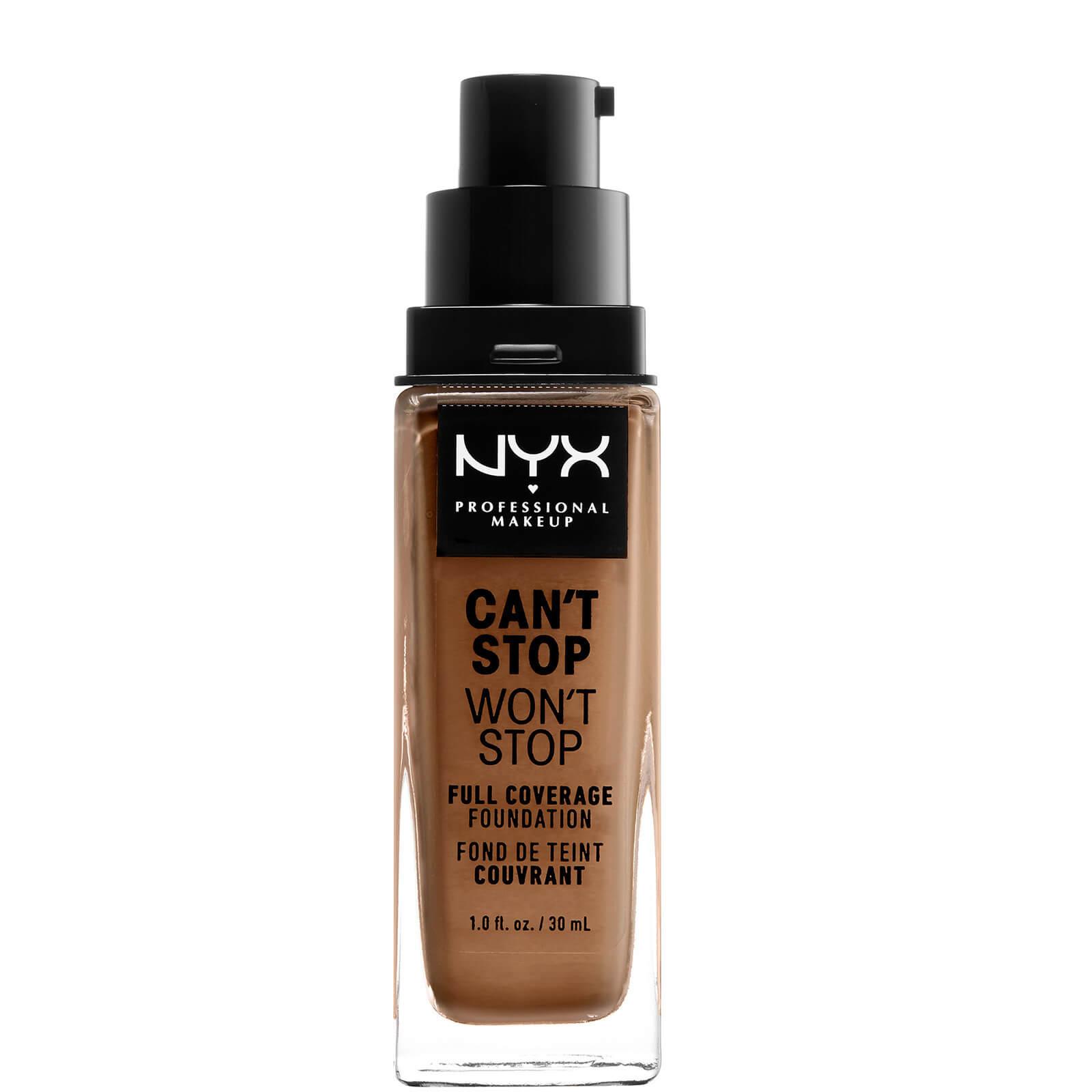Купить Тональная основа NYX Professional Makeup Can't Stop Won't Stop 24 Hour Foundation (различные оттенки) - Mahogany