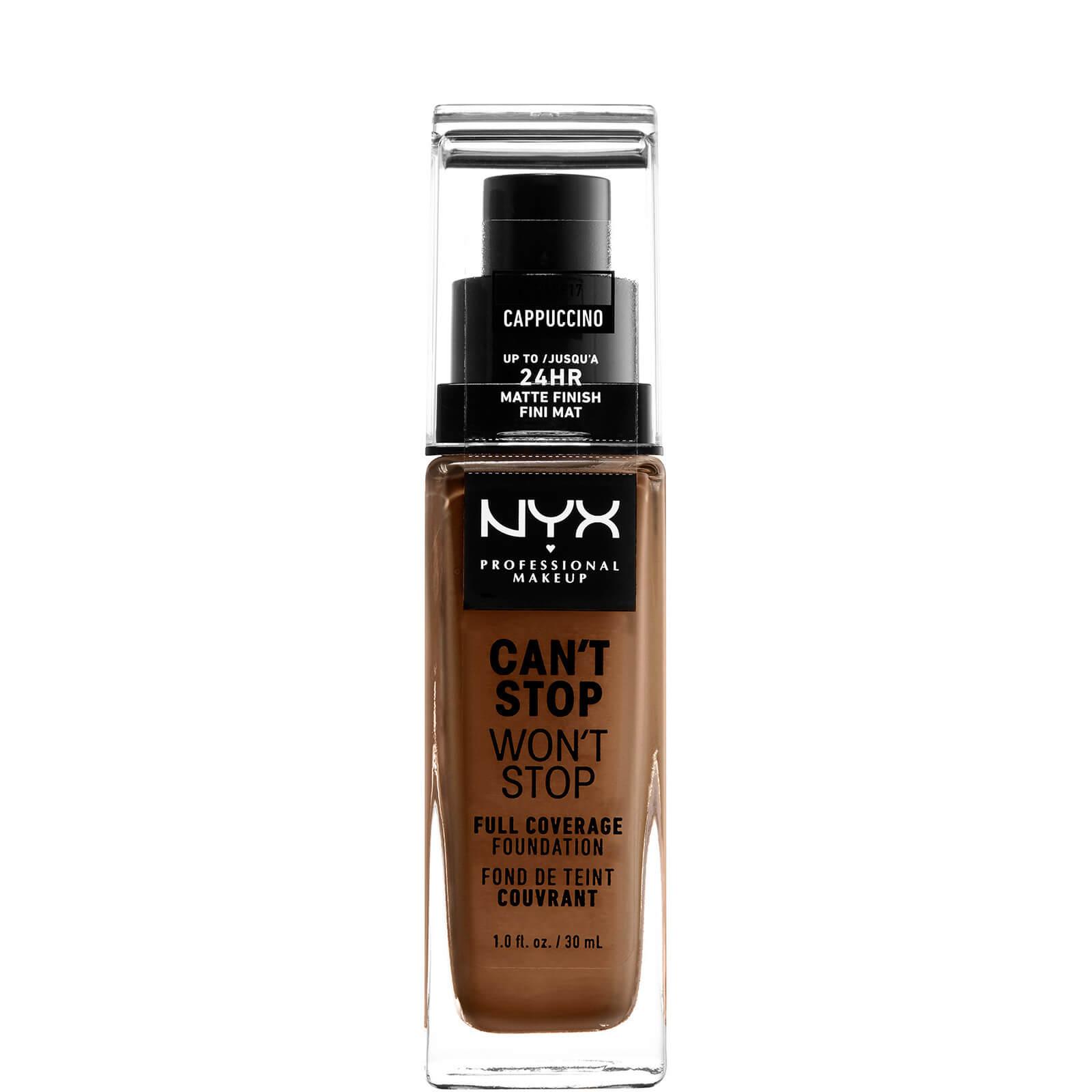 Купить Тональная основа NYX Professional Makeup Can't Stop Won't Stop 24 Hour Foundation (различные оттенки) - Cappuccino