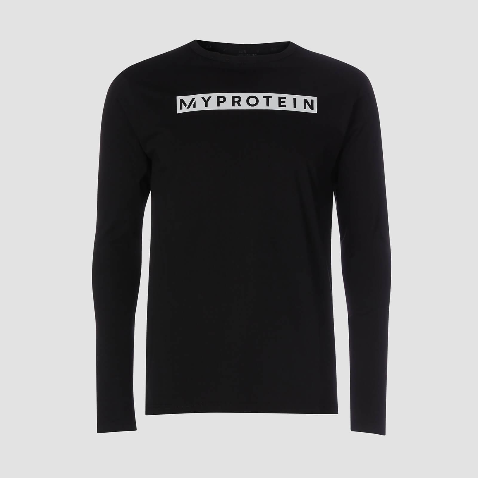T-Shirt À Manches Longues Original - Noir - XXL