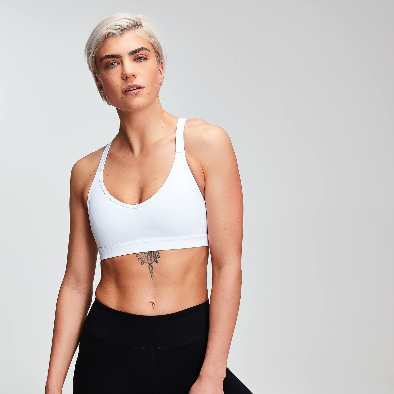 Brassière de sport MP Power en résille pour femmes – Blanc - XXL