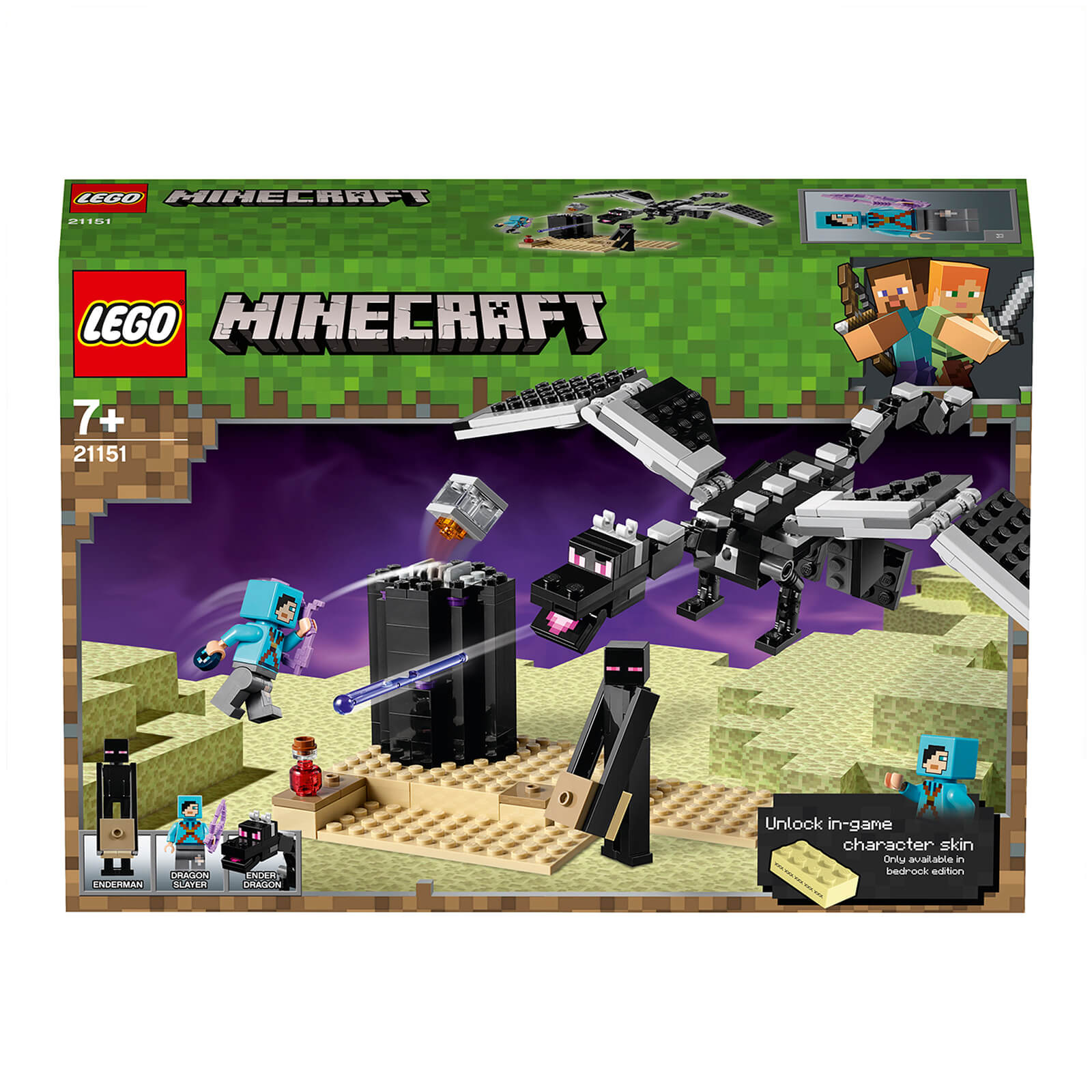 Image of 21151 LEGO® MINECRAFT The last battle