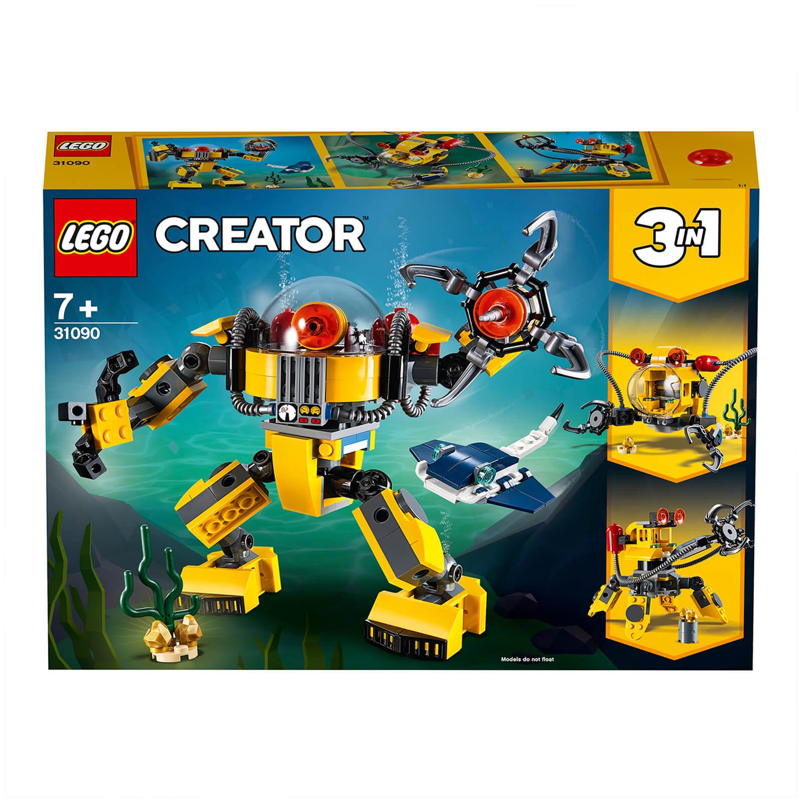 Image of 31090 LEGO® CREATOR Underwater robot