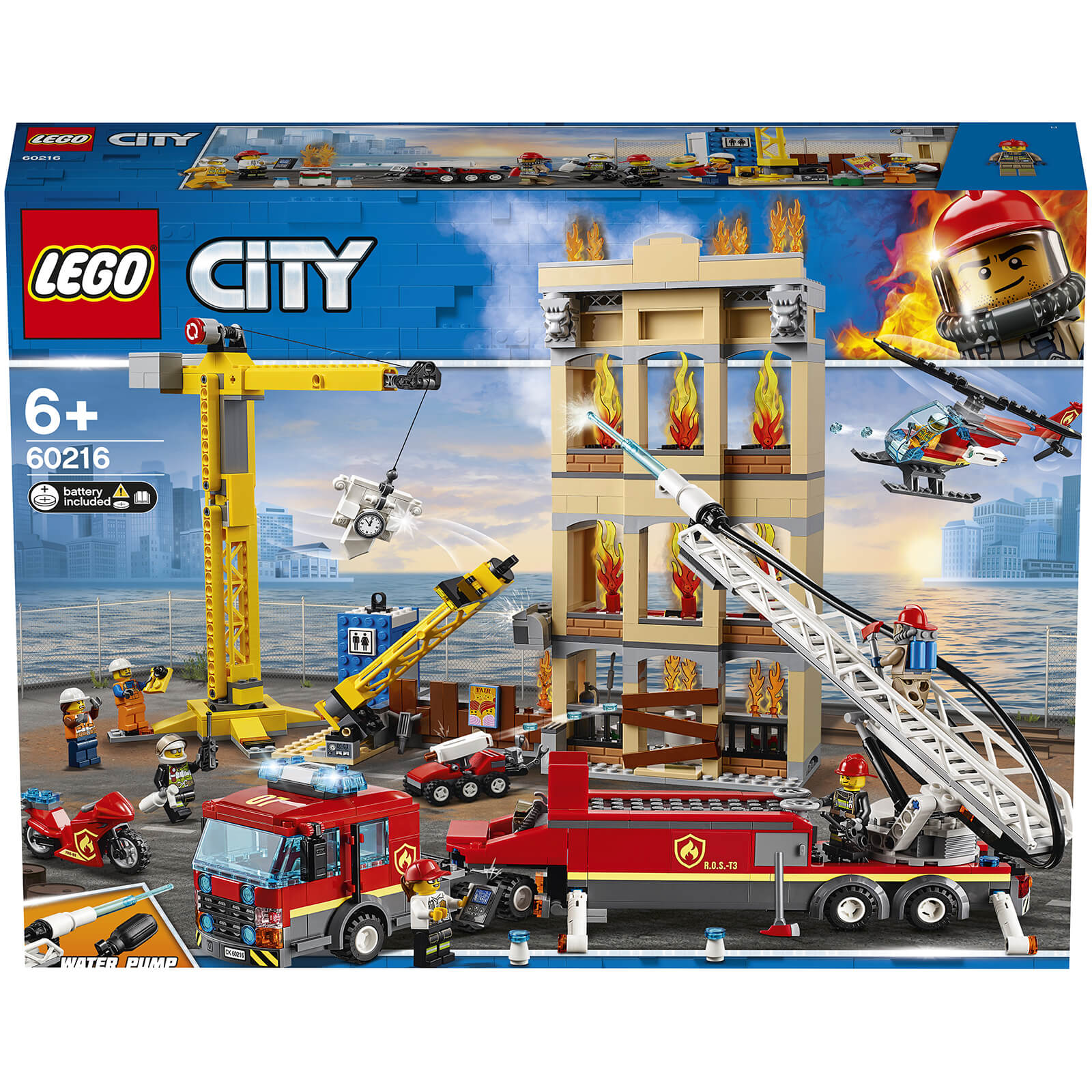 Image of 60216 LEGO® CITY Fire in the city