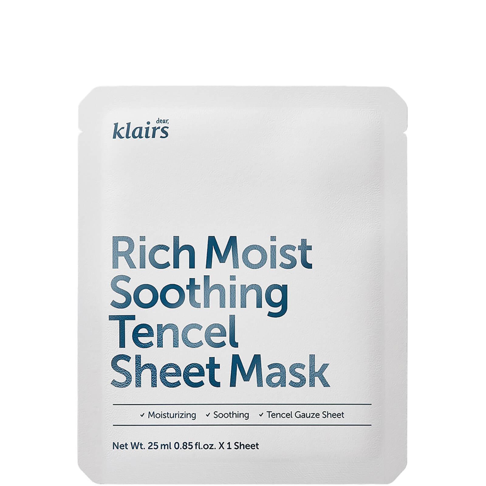 Купить Тканевая маска Dear, Klairs Rich Moist Soothing Tencel Sheet Mask 25ml