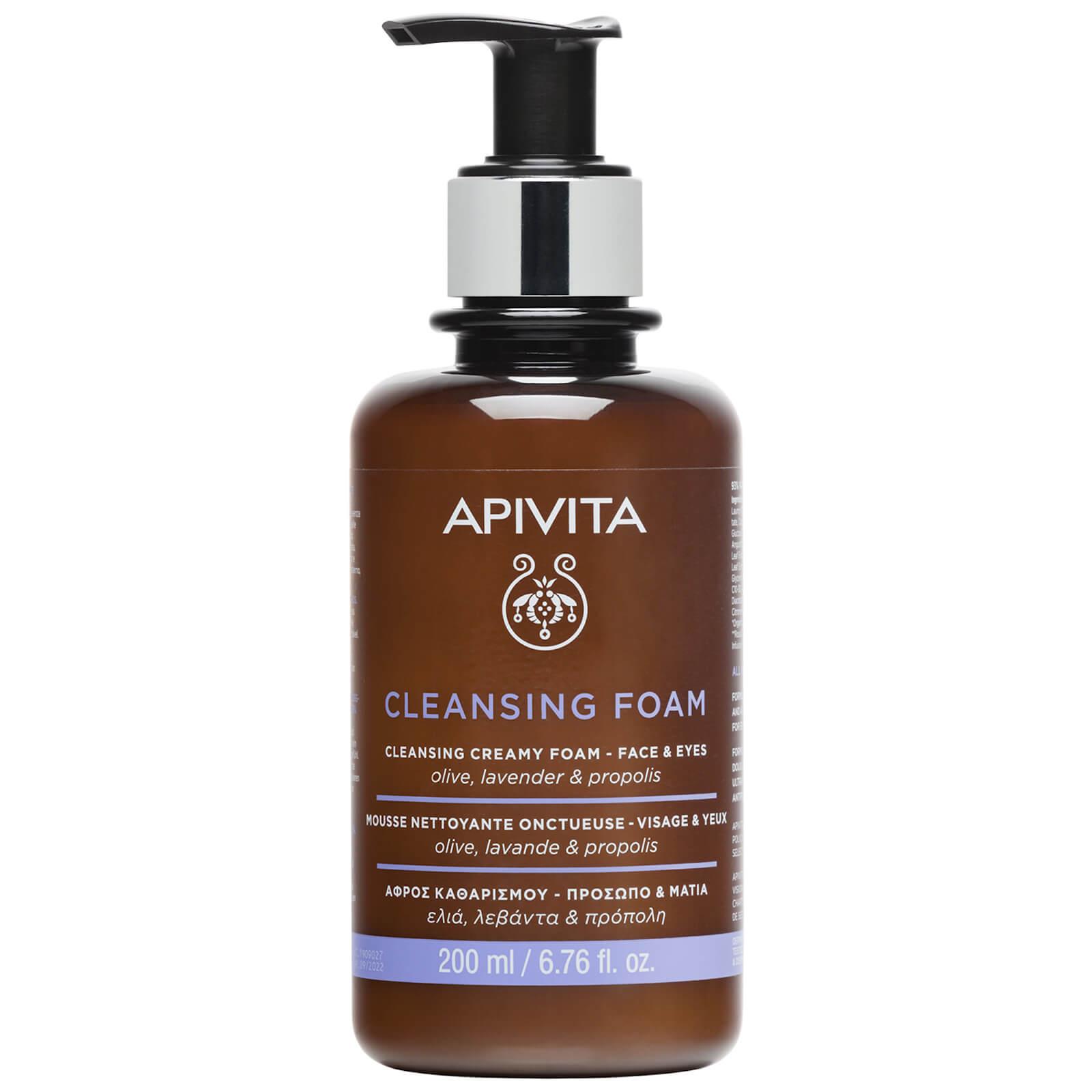 Купить Очищающая пенка для лица и век APIVITA Foam Cleanser Face & Eye 200 мл