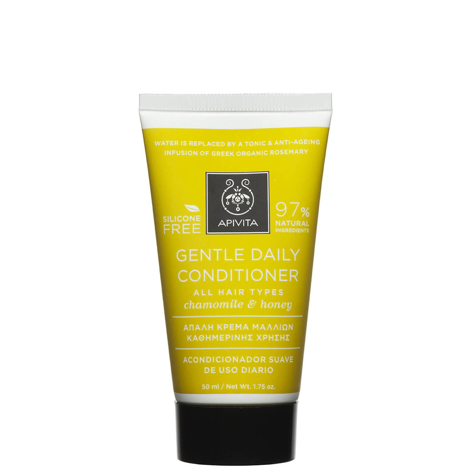 Купить Кондиционер APIVITA Holistic Hair Care Mini Gentle Daily Conditioner for All Hair Types — German Chamomile & Honey 50 мл