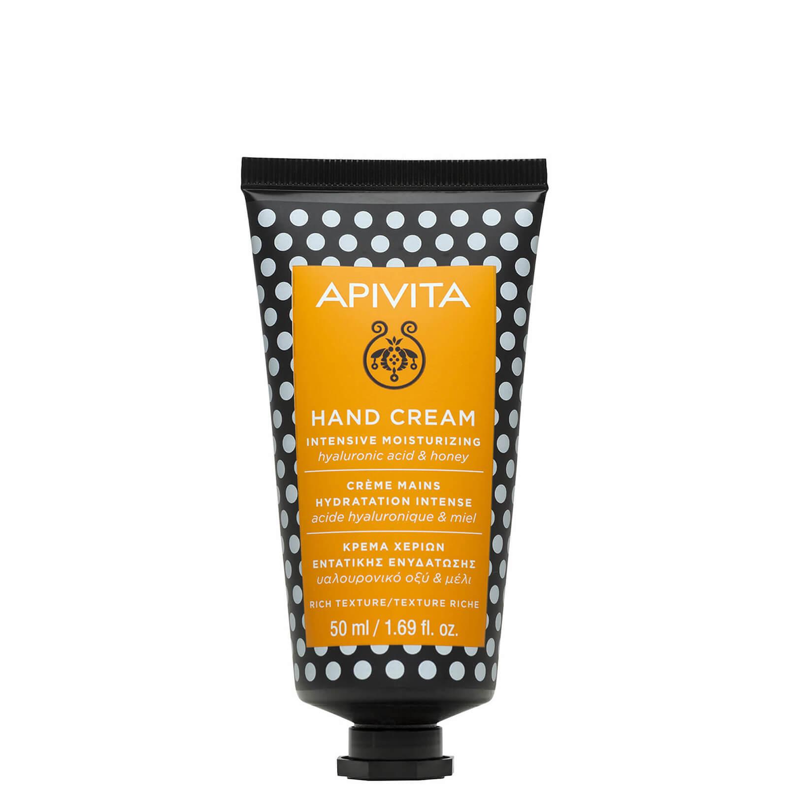 Купить Увлажняющий крем для рук APIVITA Hand Care Intensive Moisturizing Hand Cream - Hyaluronic Acid & Honey 50 мл
