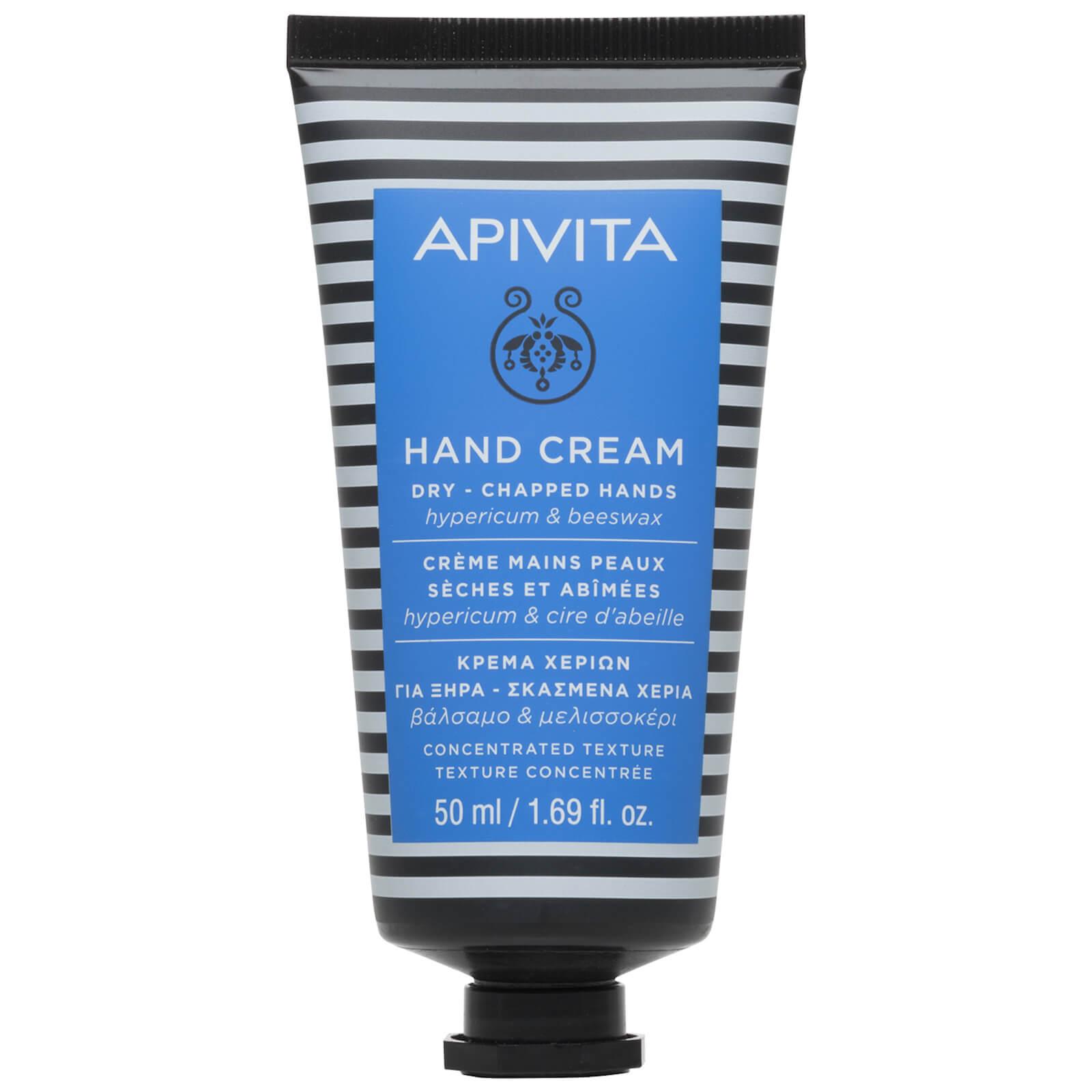 Купить Крем для сухой, обветрившейся кожи рук APIVITA Hand Care Hand Cream for Dry Chapped Hands - Hypericum & Beeswax 50 мл