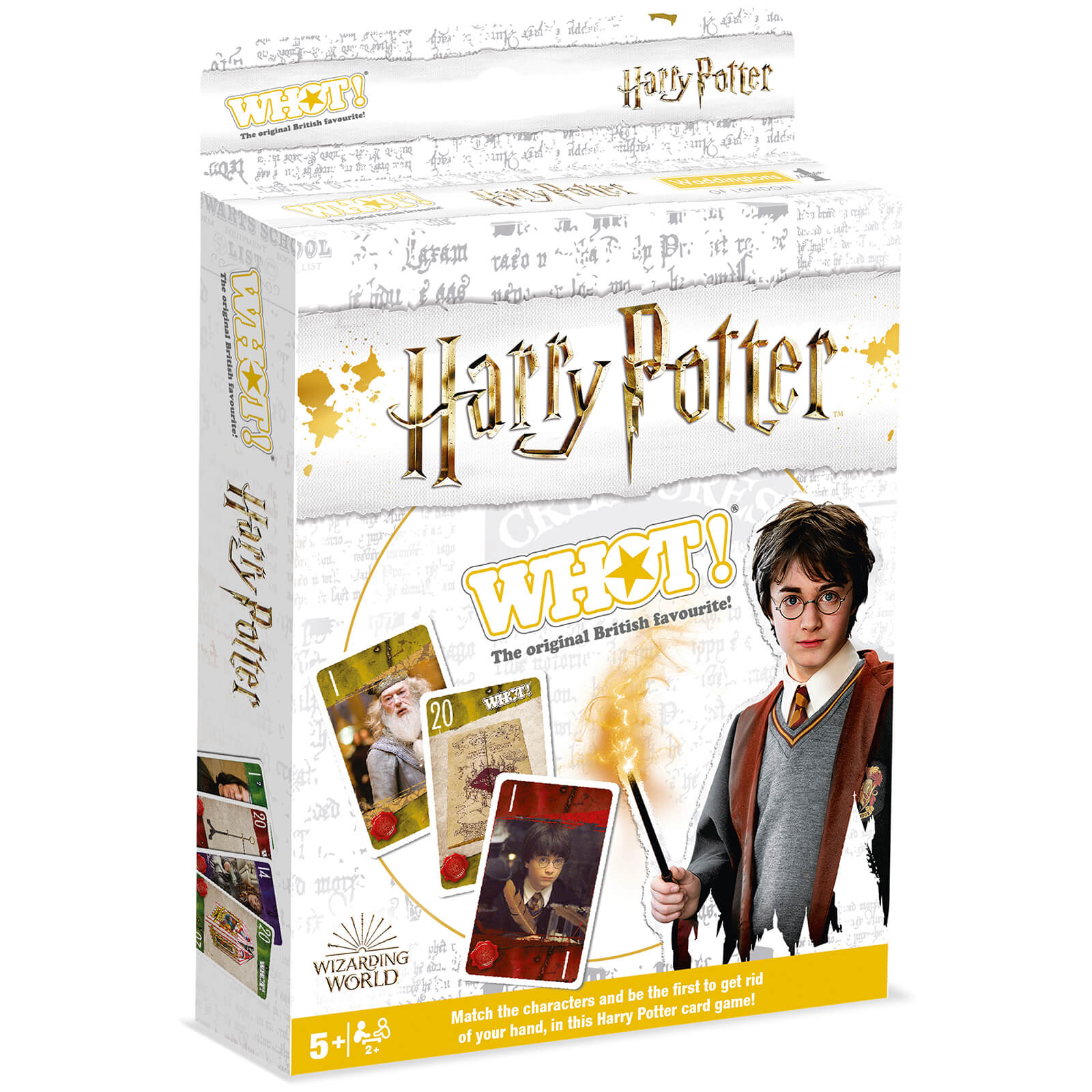 Image of Harry Potter WHOT! Travel Tuckbox Card Game - Harry Potter Edition