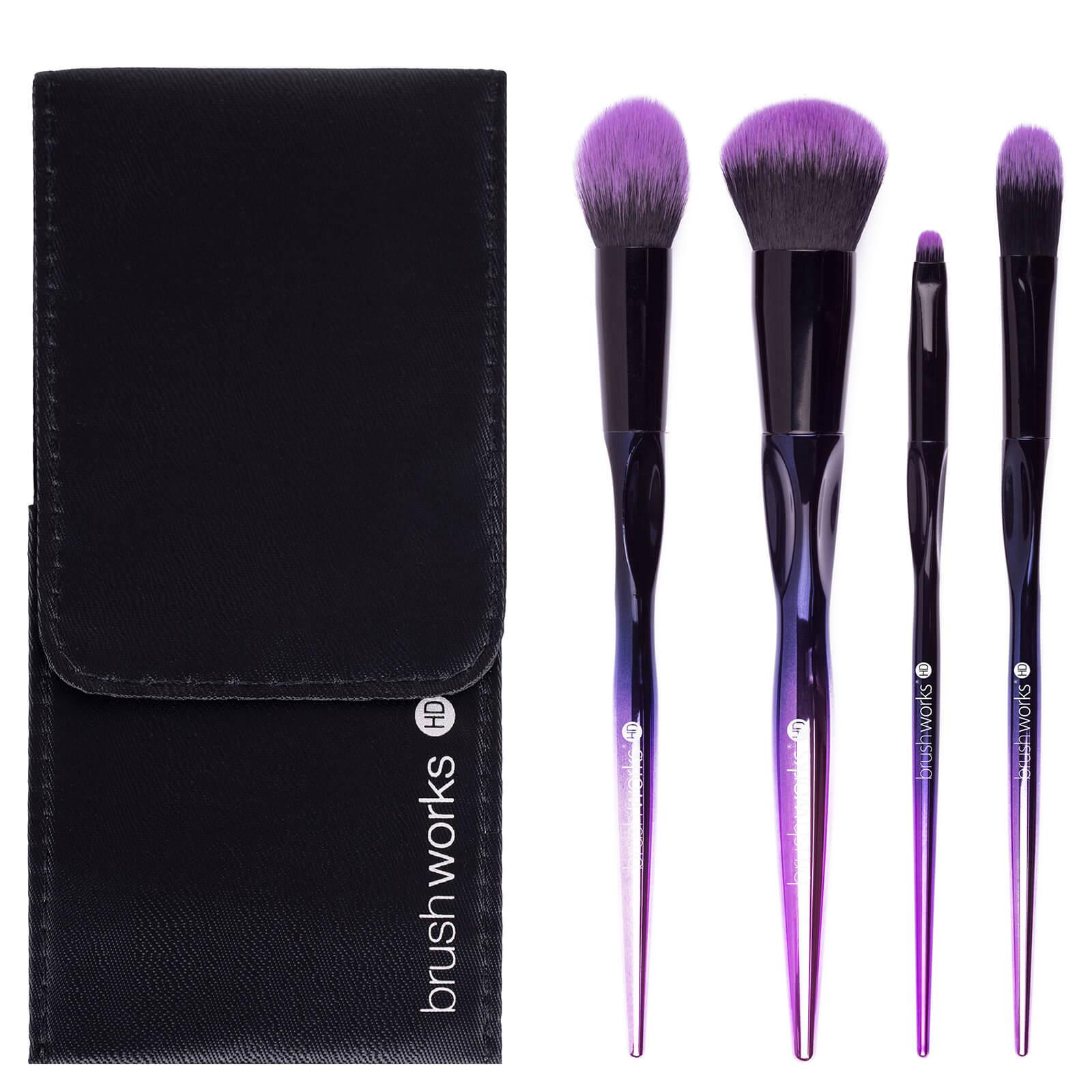 Купить Набор кистей для макияжа лица brushworks HD Complete Face Brush Set