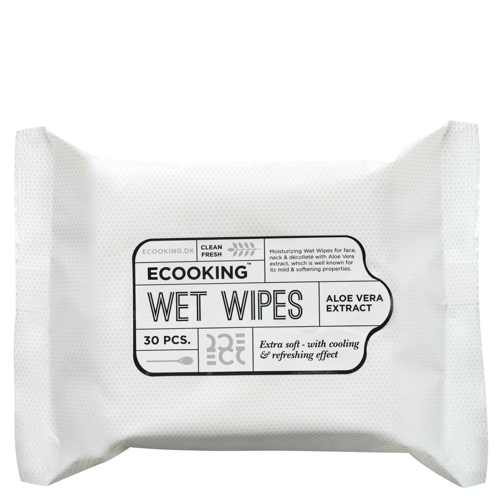 Купить Влажные салфетки Ecooking Wet Wipes (30 шт. в упаковке)