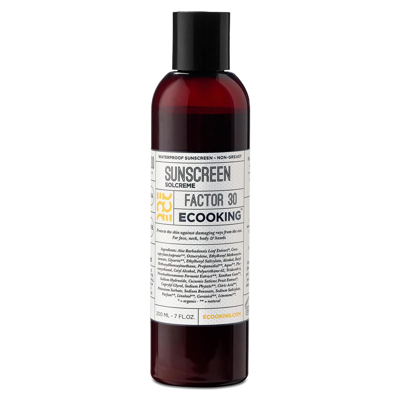 Купить Солнцезащитный крем Ecooking Sunscreen SPF 30 200 мл