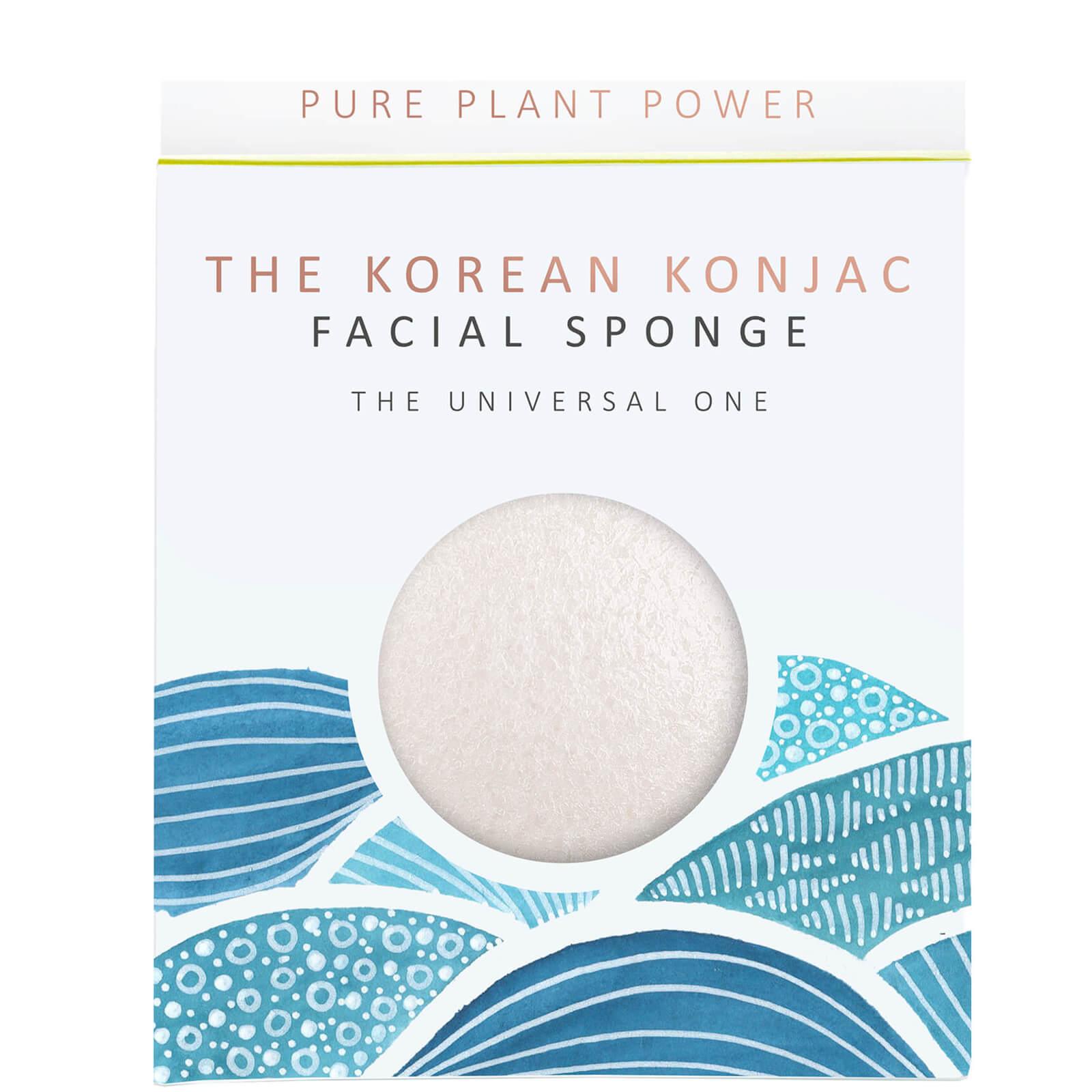 Купить Спонж для лица The Konjac Sponge Company The Elements Water Facial Sponge — 100% Pure White 30 г