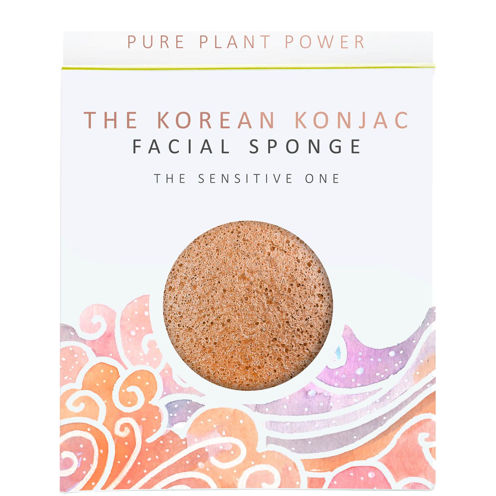 Купить Спонж для лица The Konjac Sponge Company The Elements Air Facial Sponge — Calming Chamomile/Pink Clay 30 г