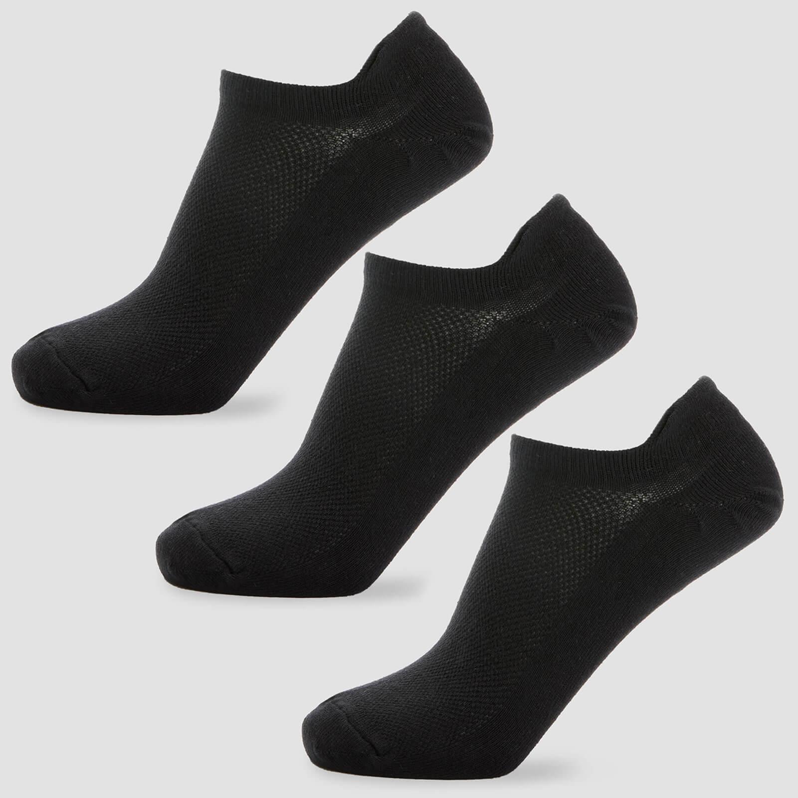 Chaussettes courtes pour homme - Blanc - UK 6-8