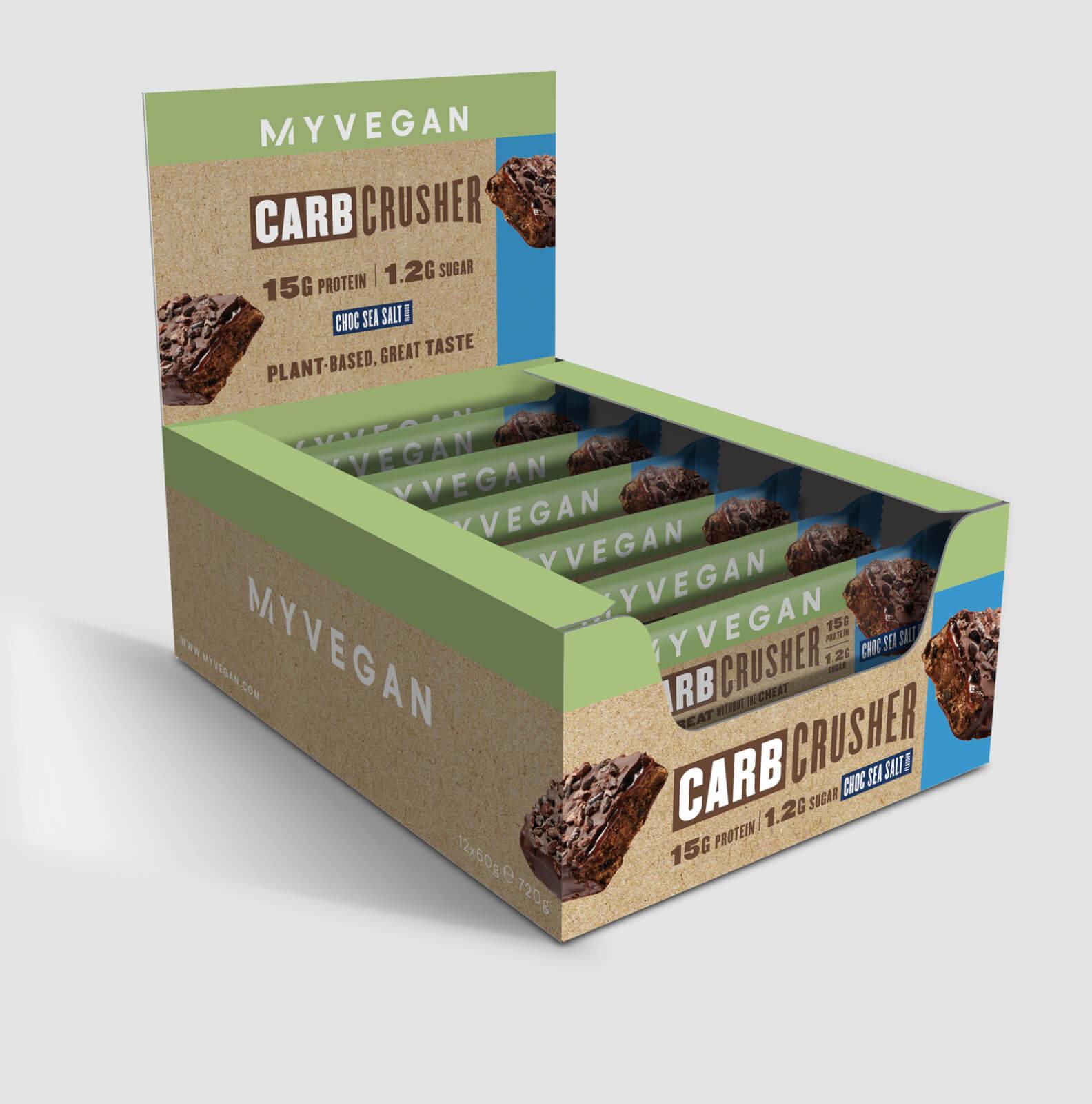 Carb Crusher végane - Chocolat & Sel De Mer