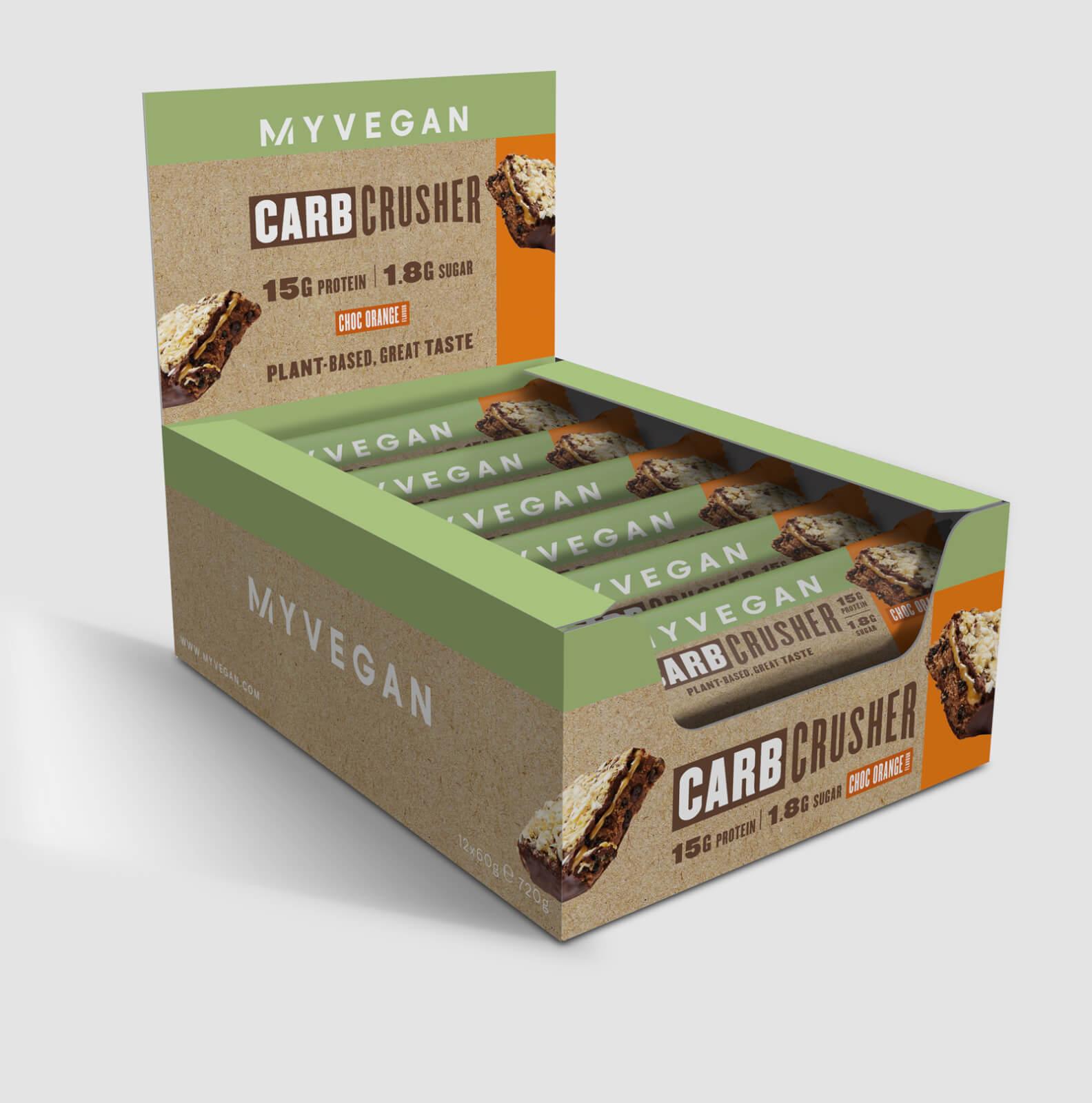 Carb Crusher végane - Chocolat-Orange
