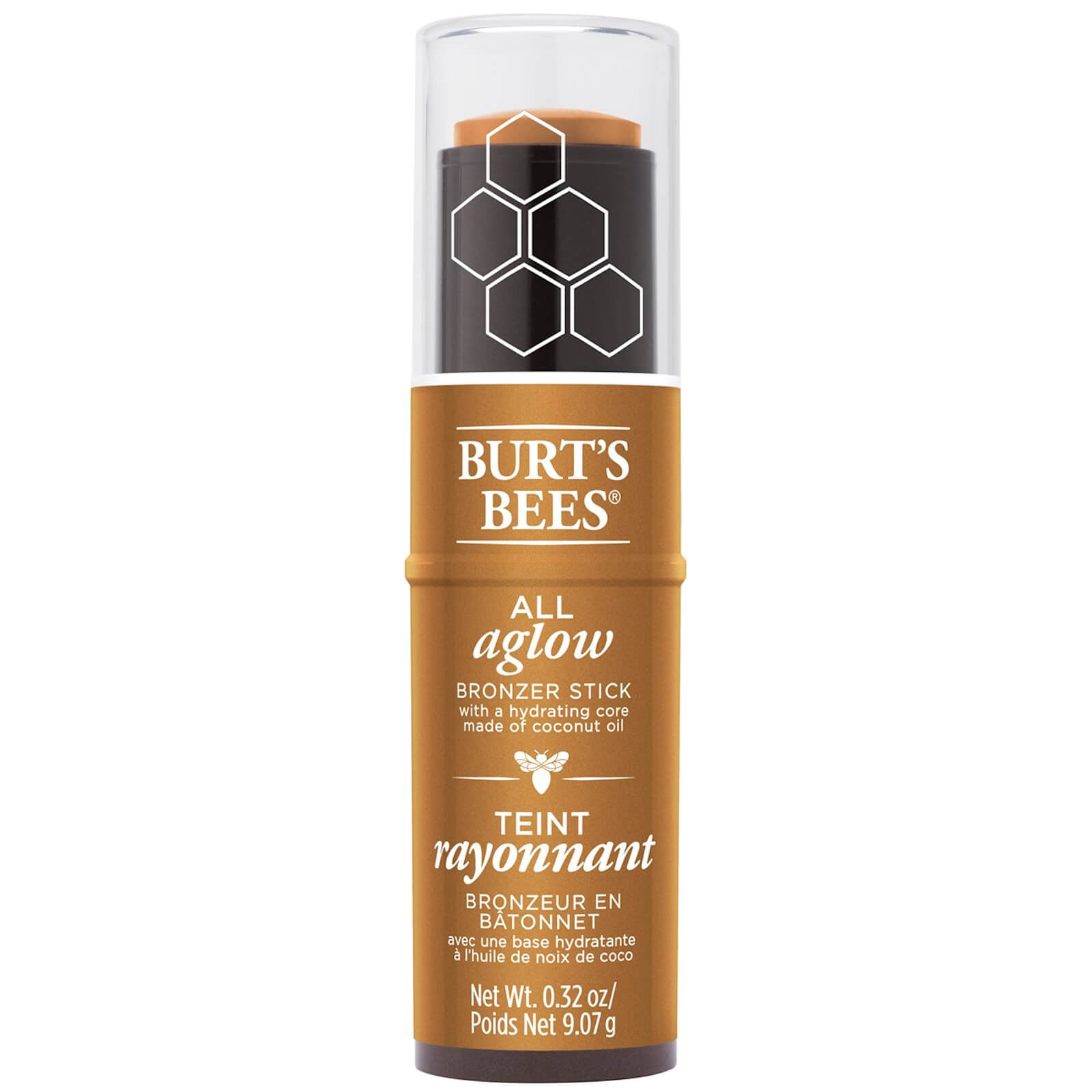 Burt's Bees 100% Natural All Aglow Highlighter Stick 8.5g (Various Shades) - Bronze Splash