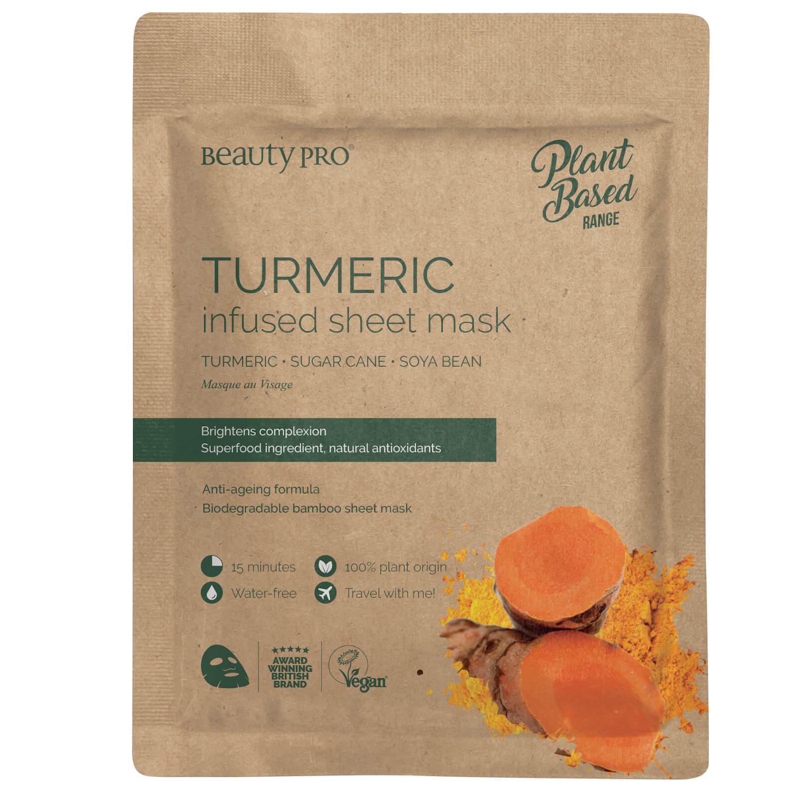 BeautyPro Turmeric Infused Sheet Mask 22ml