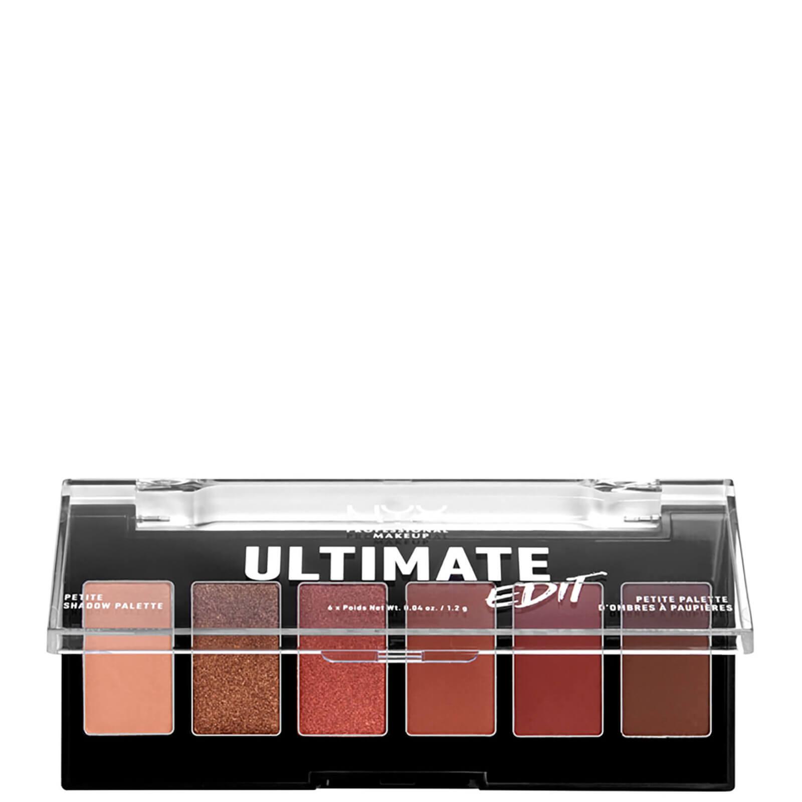 Купить NYX Professional Makeup Ultimate Edit Petite Eye Shadow Palette - Warm Neutrals