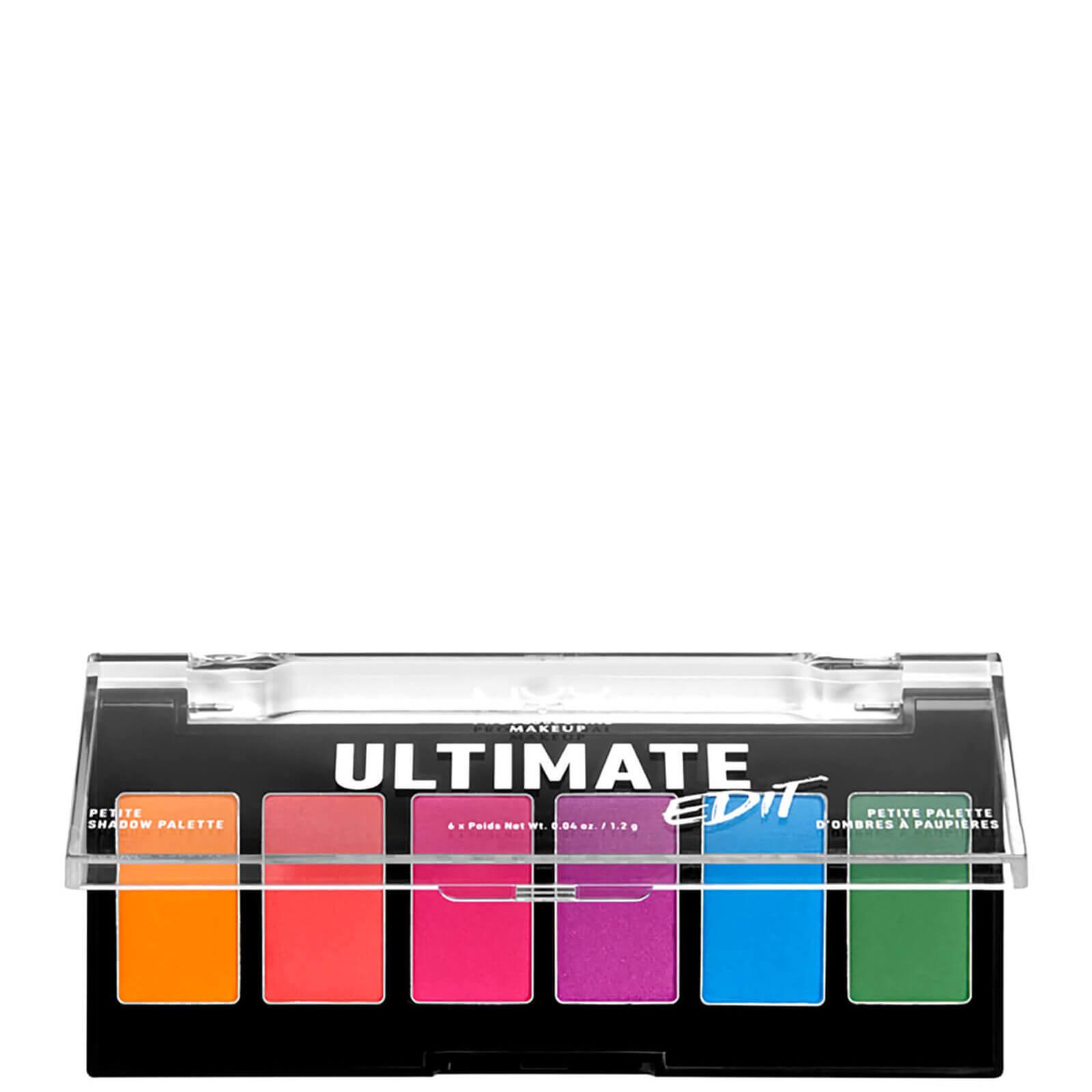 Купить NYX Professional Makeup Ultimate Edit Petite Eye Shadow Palette - Brights