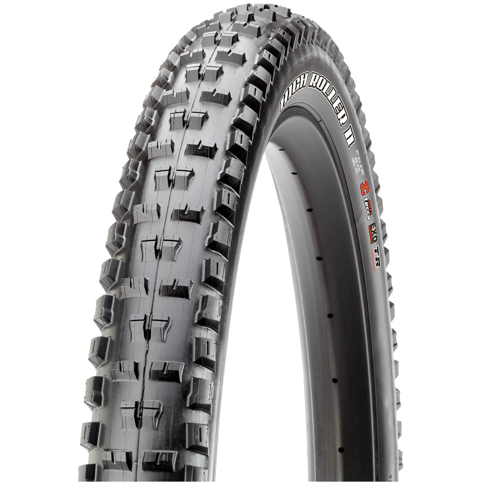 Maxxis High Roller II+ Folding 3C TR EXO Tire - 27.5in x 2.80in