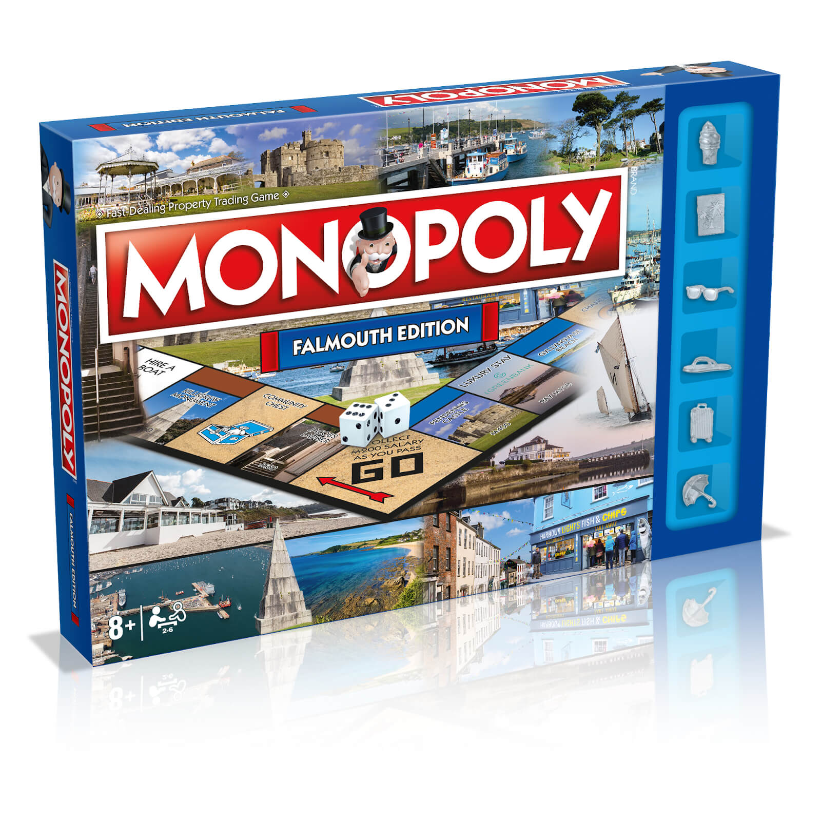 Image of Monopoly Board Game - Falmouth Edition