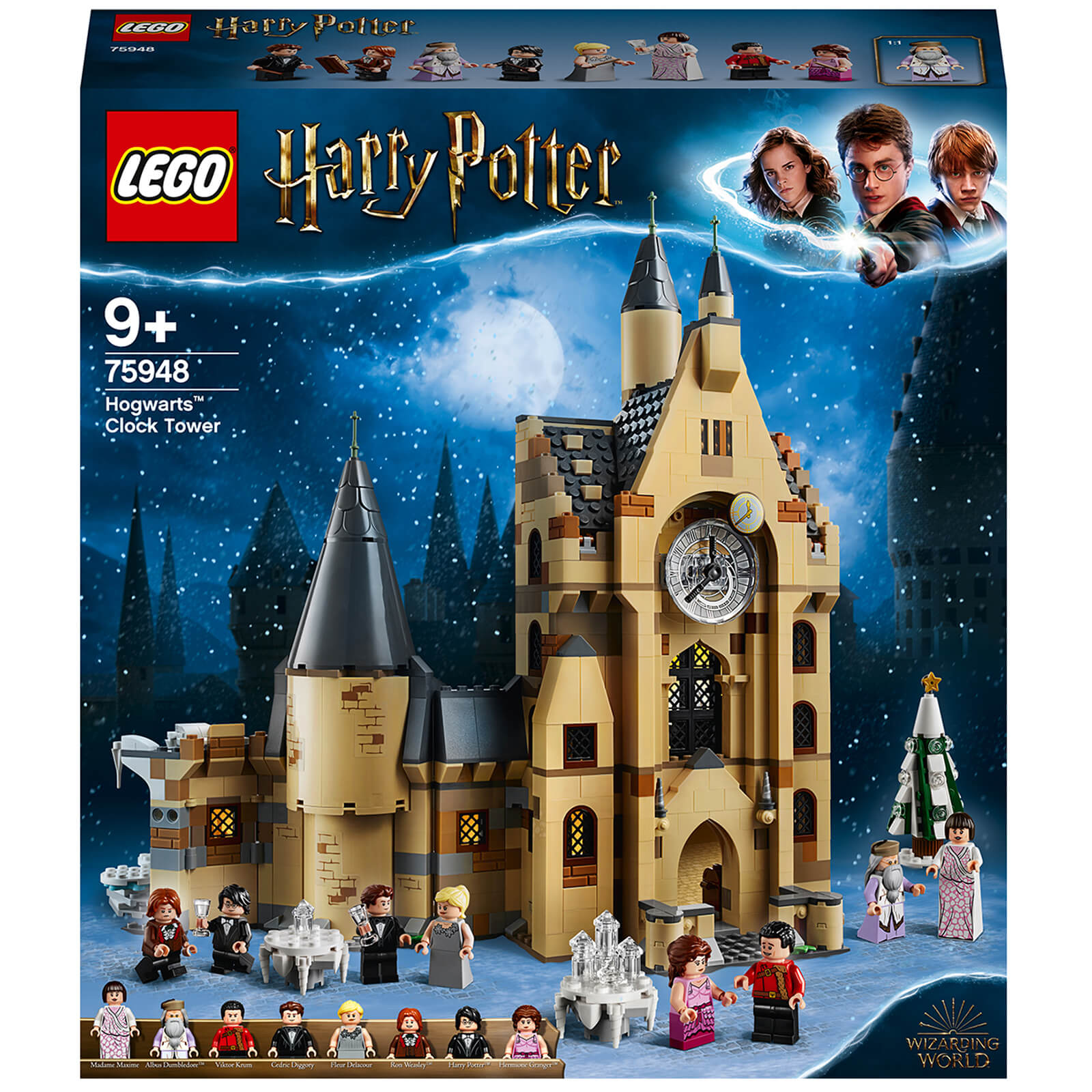 Image of LEGO Harry Potter: Hogwarts Clock Tower Toy (75948)