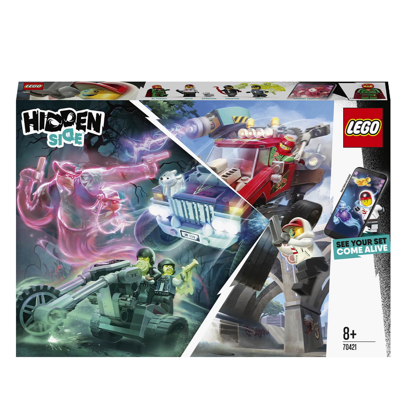 LEGO Hidden Side: El Fuego�s Stunt Truck AR Games Set (70421)