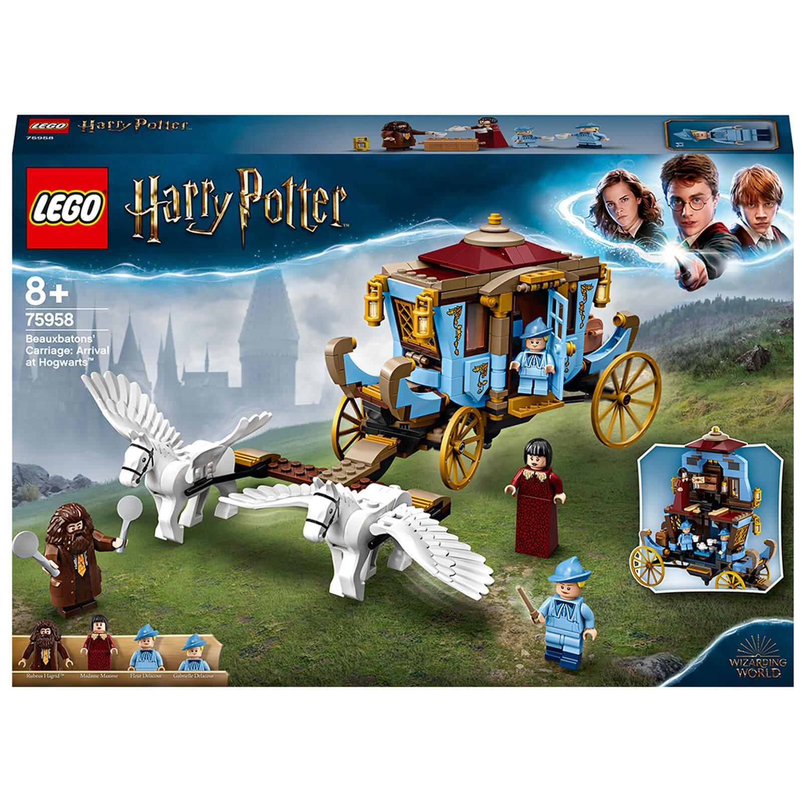 Image of LEGO Harry Potter: Beauxbatons' Carriage at Hogwarts (75958)