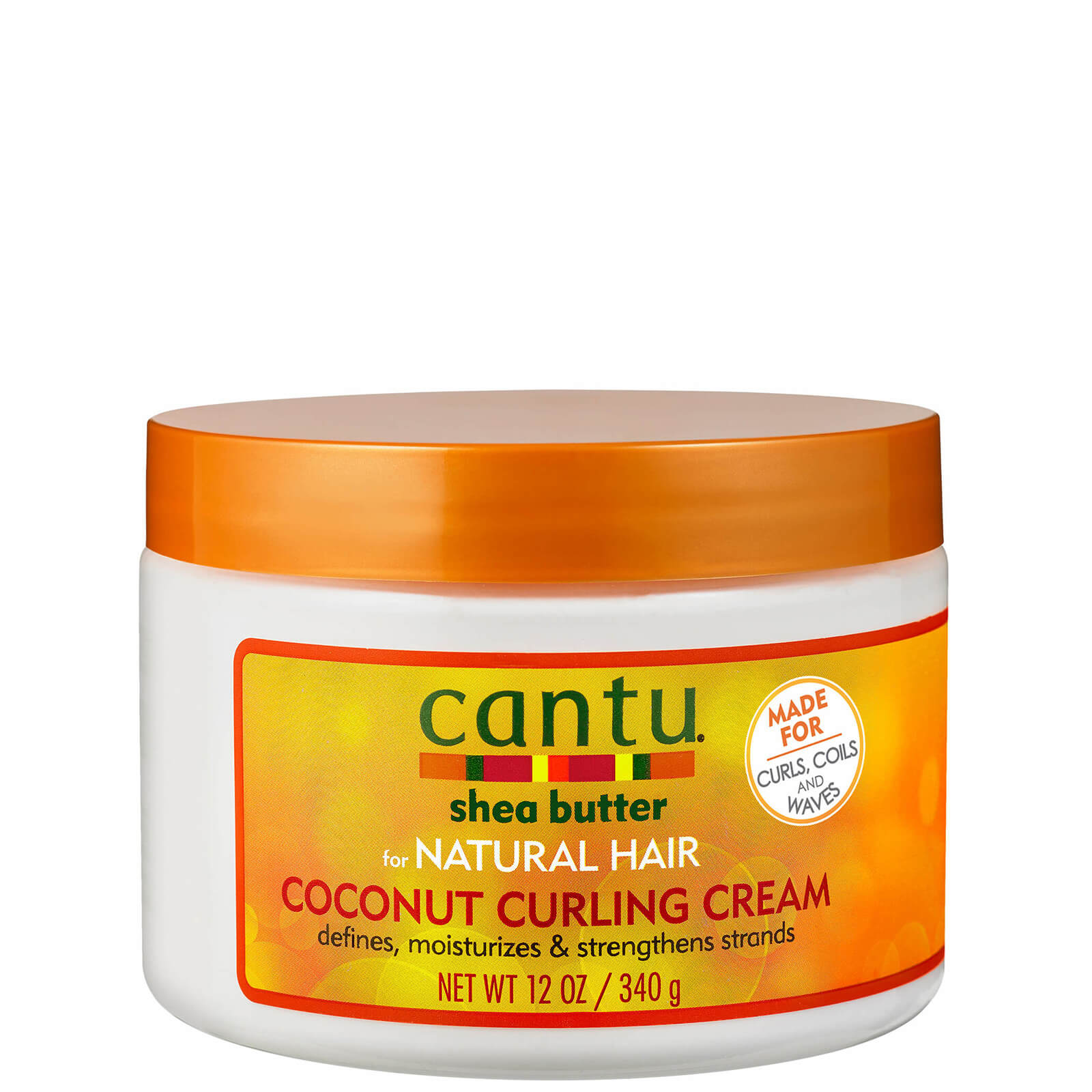 Купить Cantu Shea Butter for Natural Hair Coconut Curling Cream 340 g