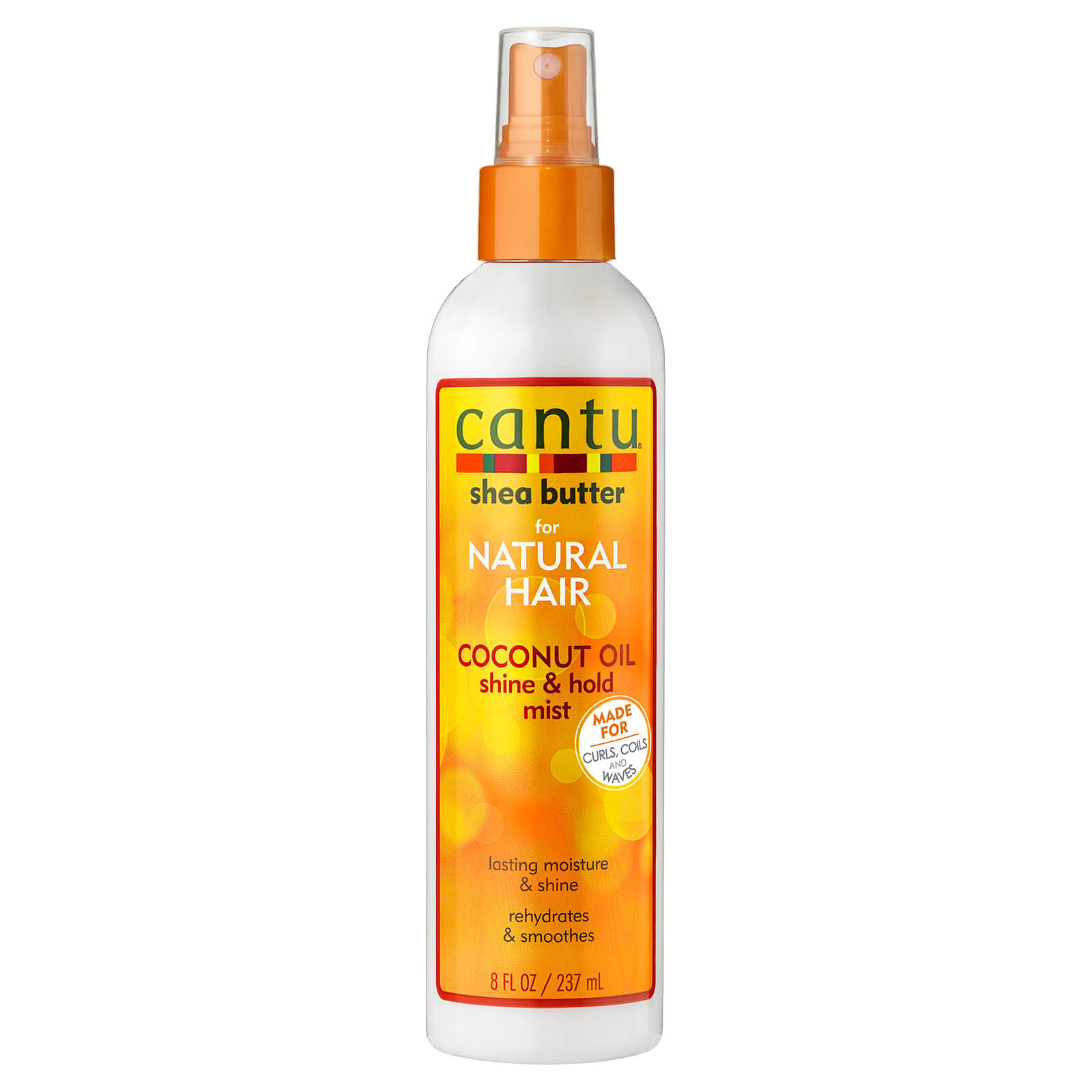 Купить Cantu Shea Butter for Natural Hair Coconut Oil Shine & Hold Mist 237ml