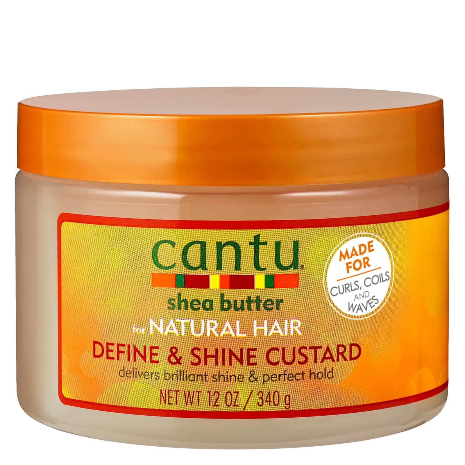 Купить Cantu Shea Butter for Natural Hair Define & Shine Custard 340g
