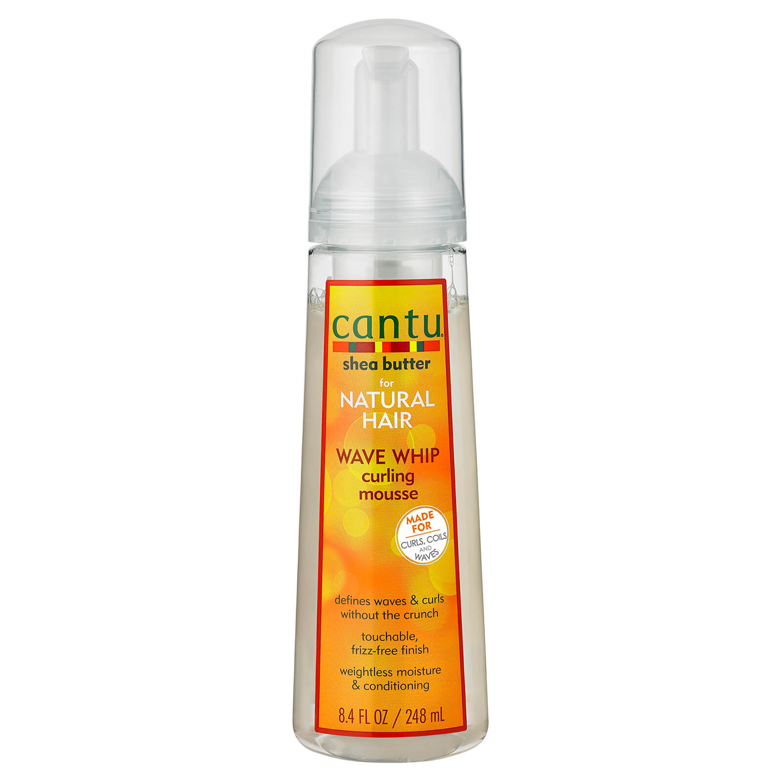 Купить Cantu Shea Butter for Natural Hair Wave Whip Curling Mousse 248 ml