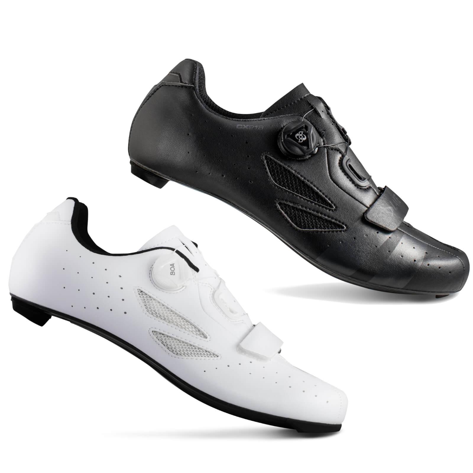 Lake CX218 Carbon Road Shoes - EU 46.5 - Black/Grey
