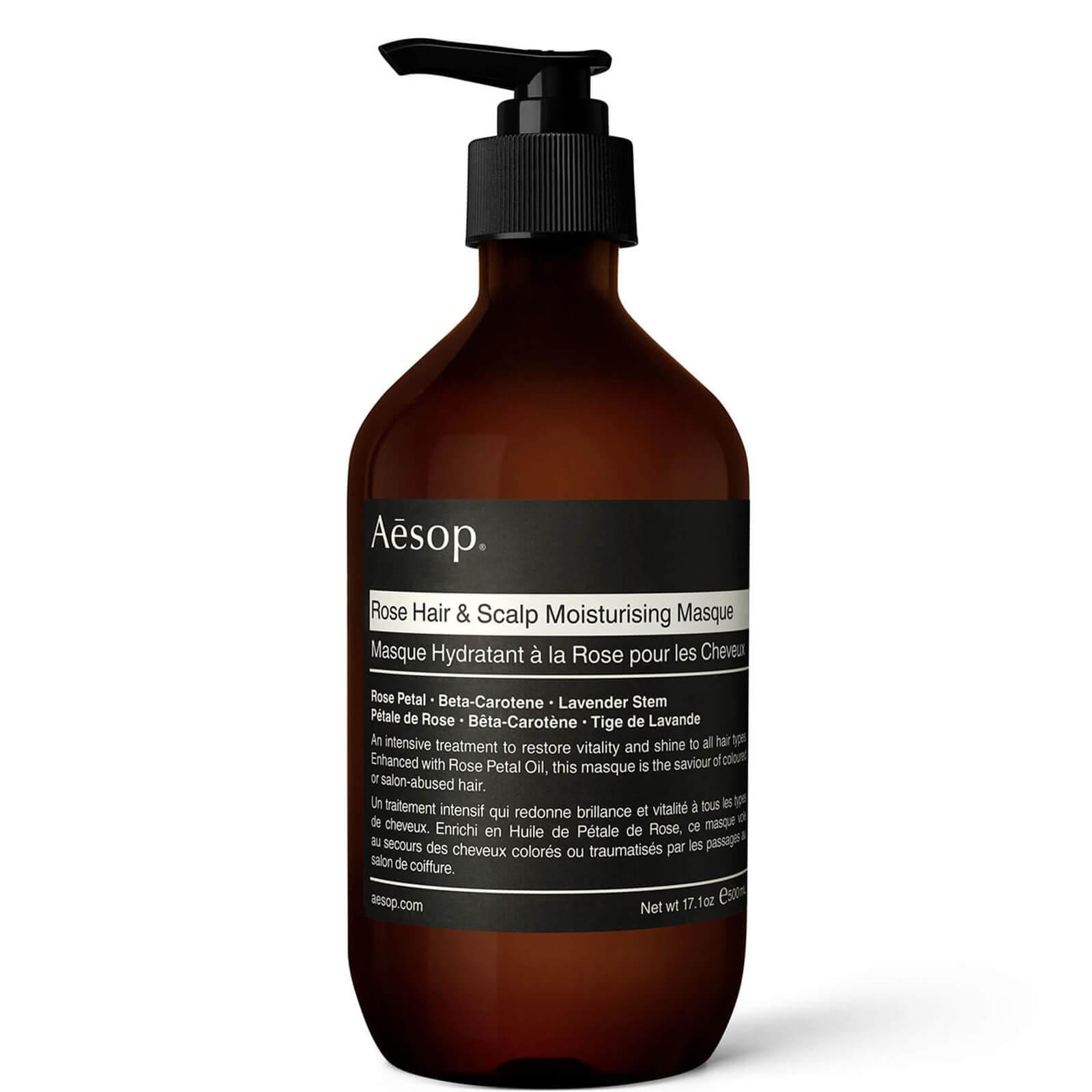 Купить Aesop Rose Hair and Scalp Moisturising Masque 500ml
