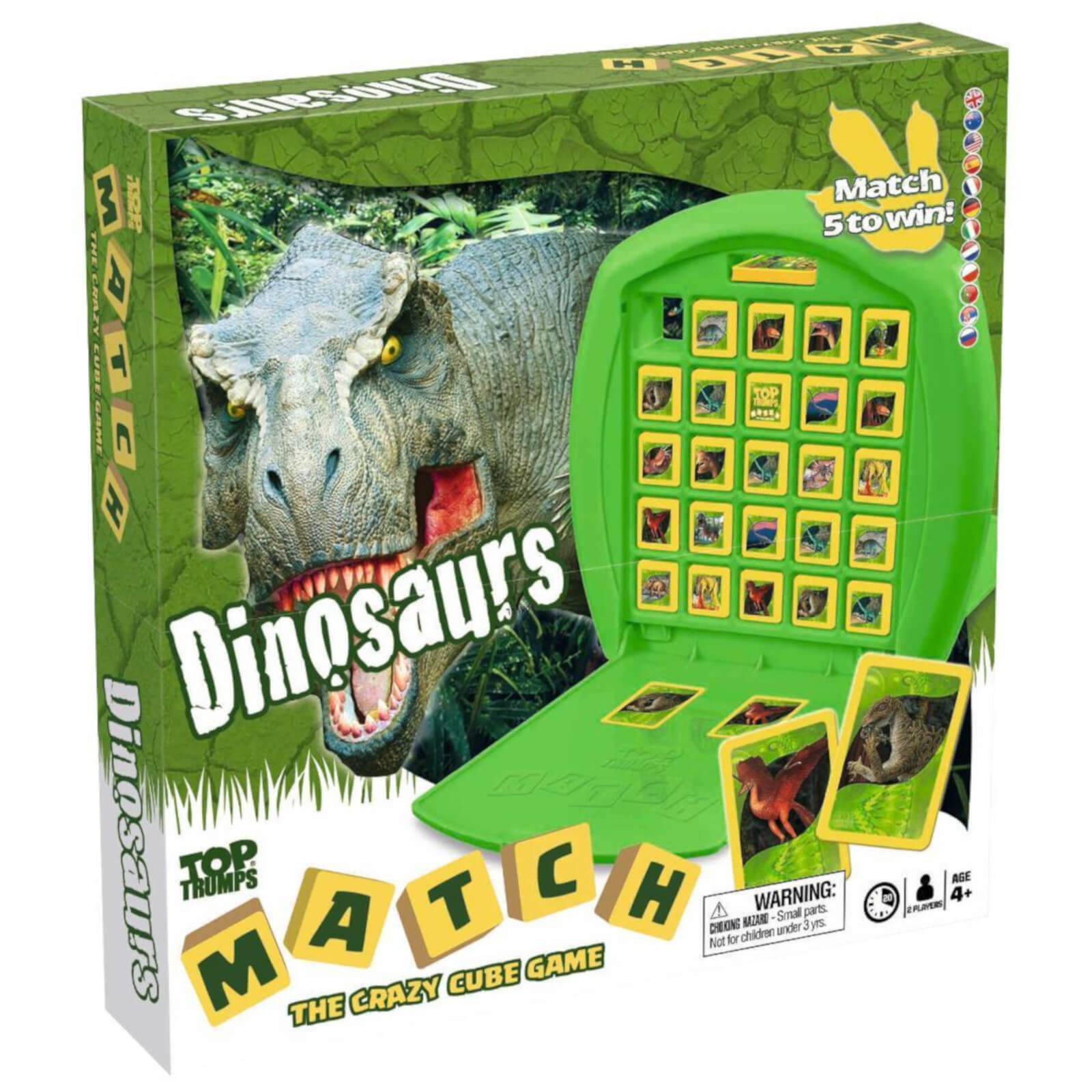 Image of Top Trumps Match Board Game - Dinosaurs Edition